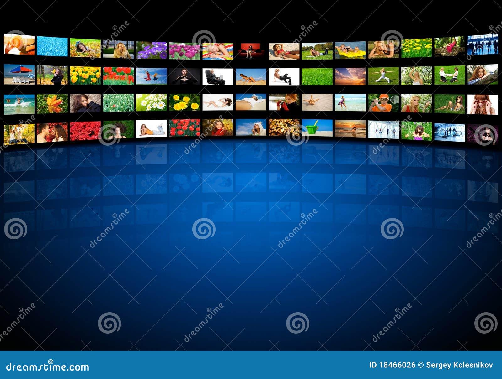 τηλεοπτικός τοίχος