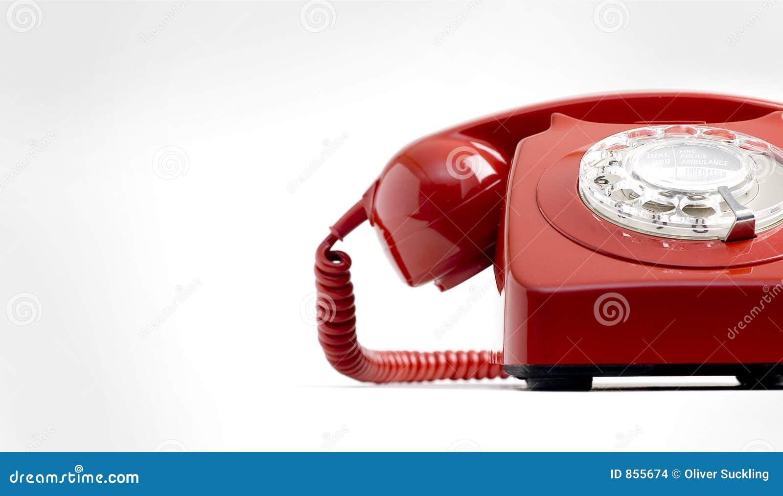 τηλεφωνικό κόκκινο