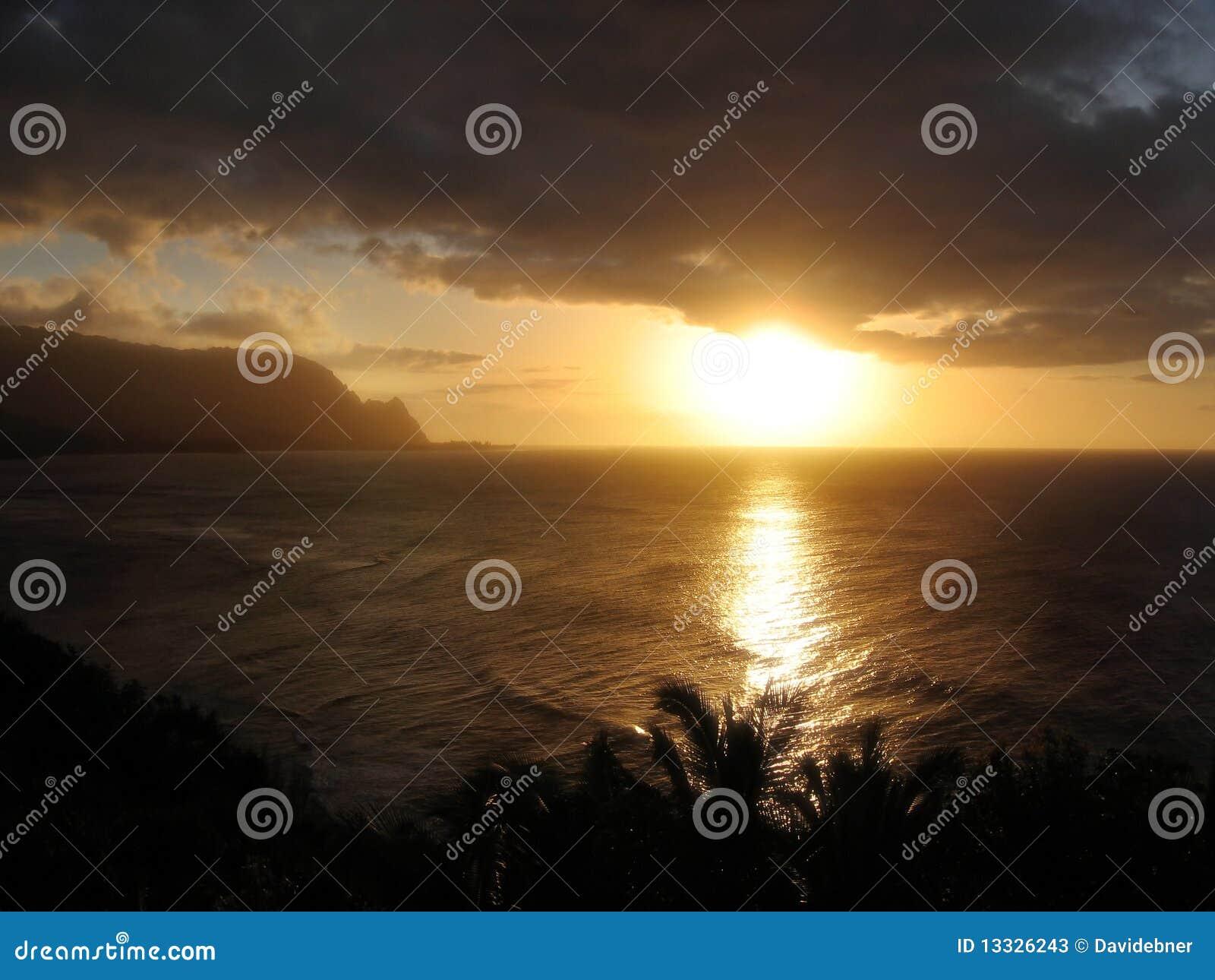 της Χαβάης ηλιοβασίλεμα