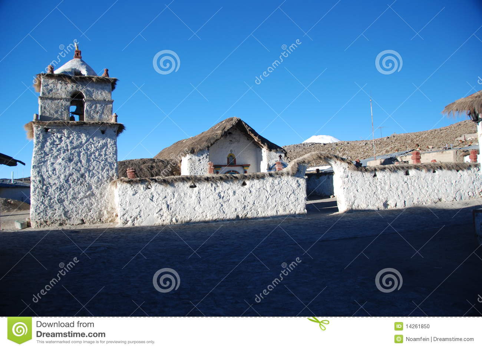 της Χιλής μικρό χωριό