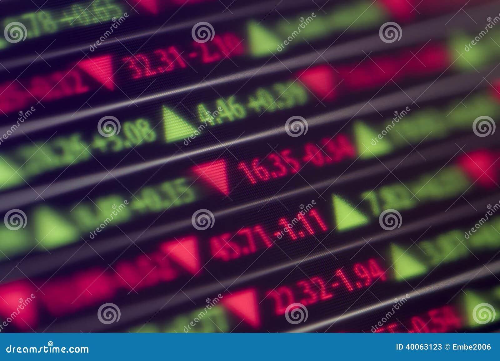 Τηλέτυπο χρηματιστηρίου