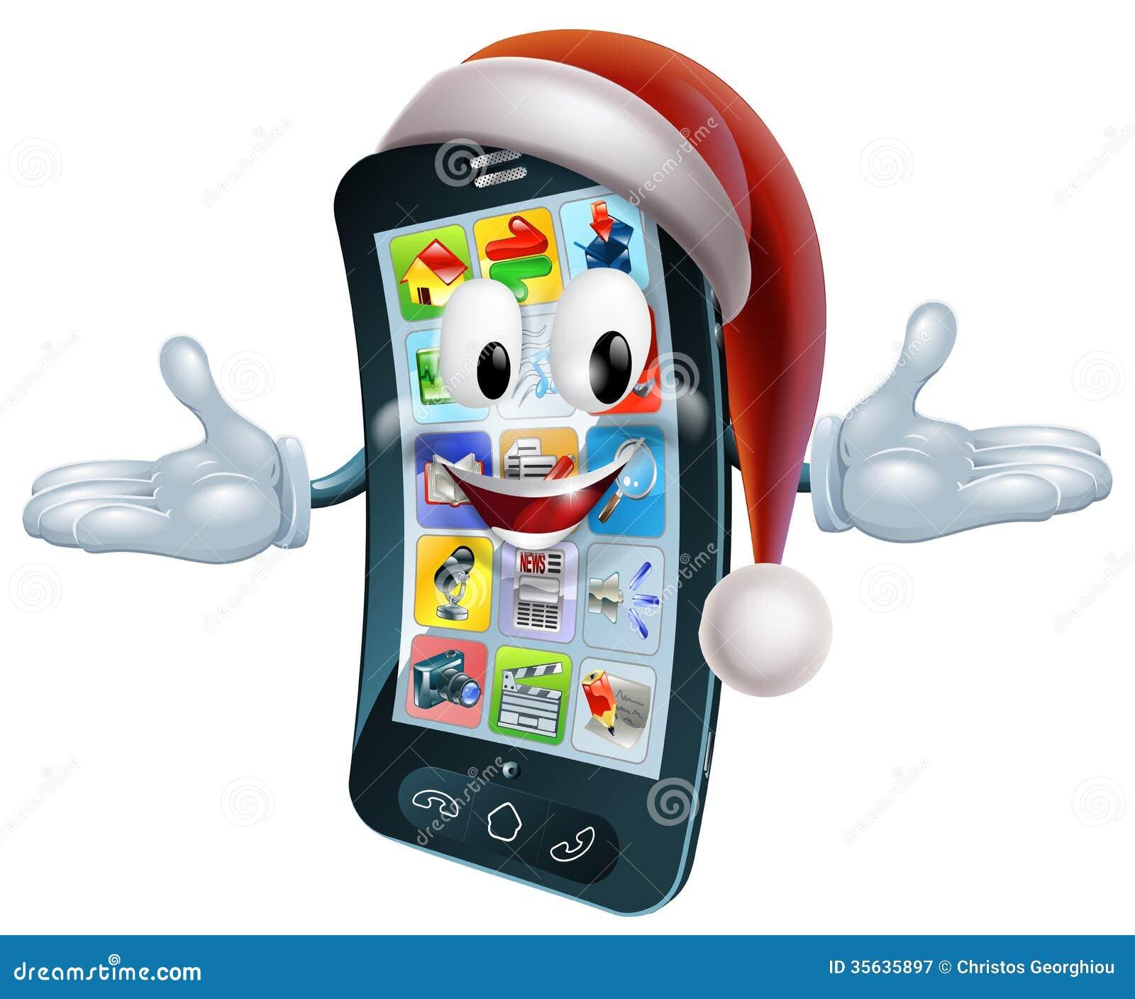 Τηλεφωνική μασκότ Χριστουγέννων
