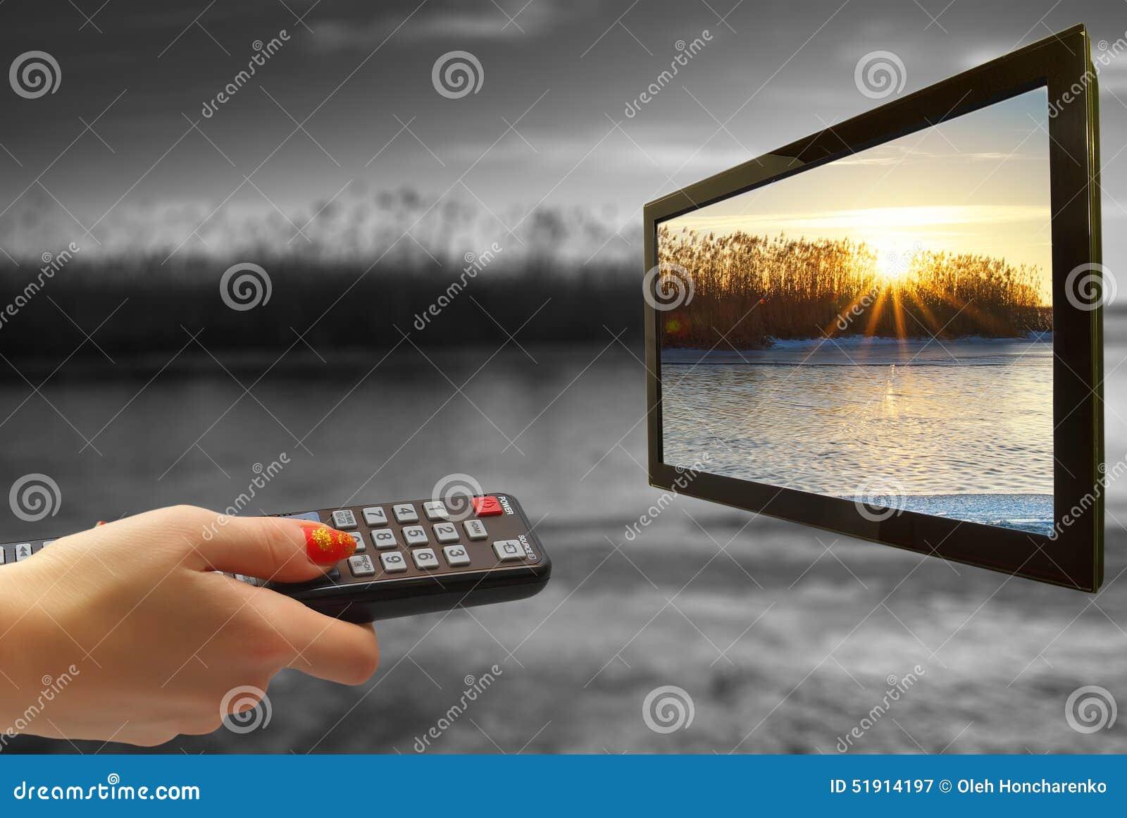 Τηλεχειρισμός υπό εξέταση και TV