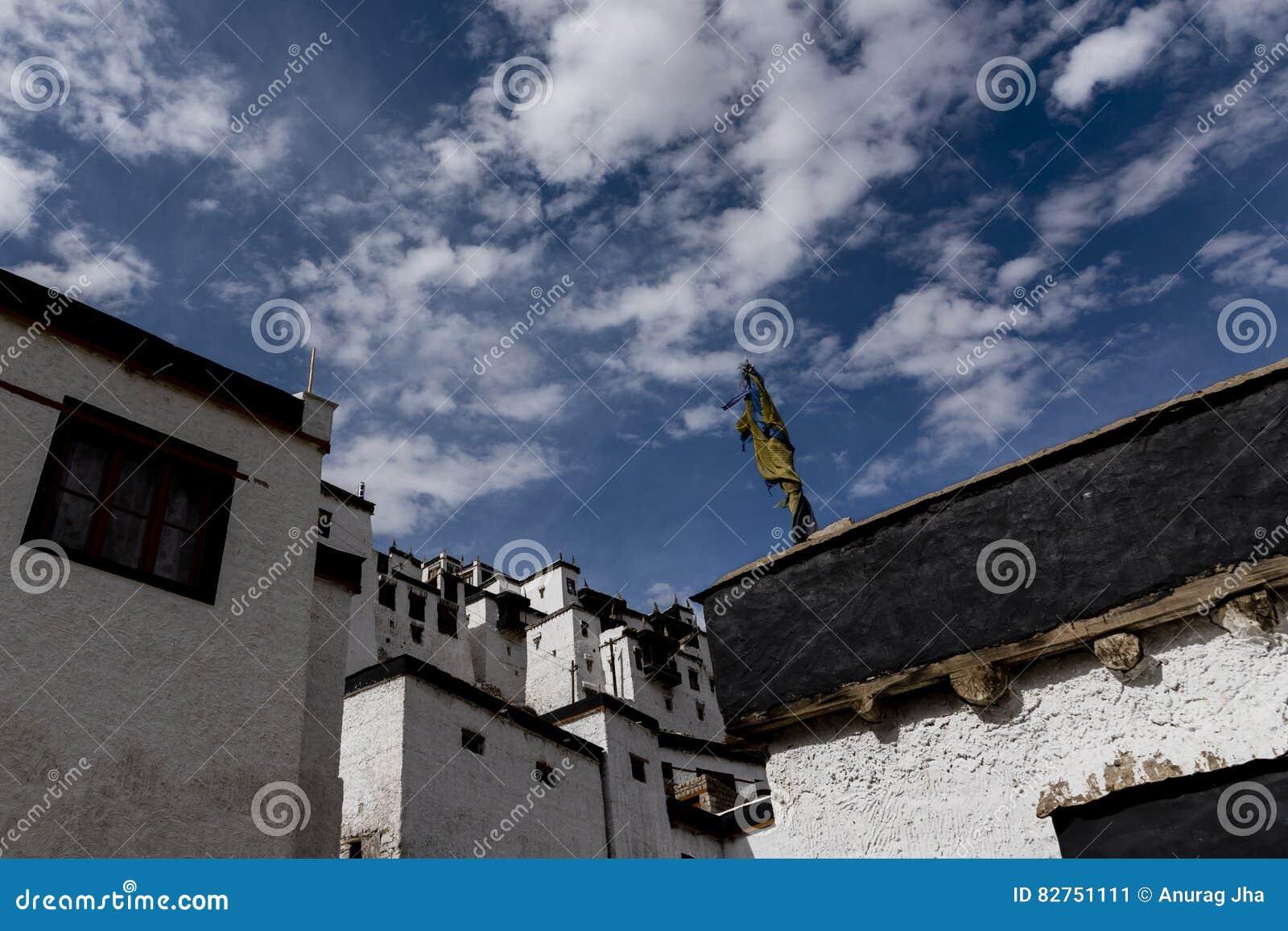 Τοίχοι του μοναστηριού Thiksay