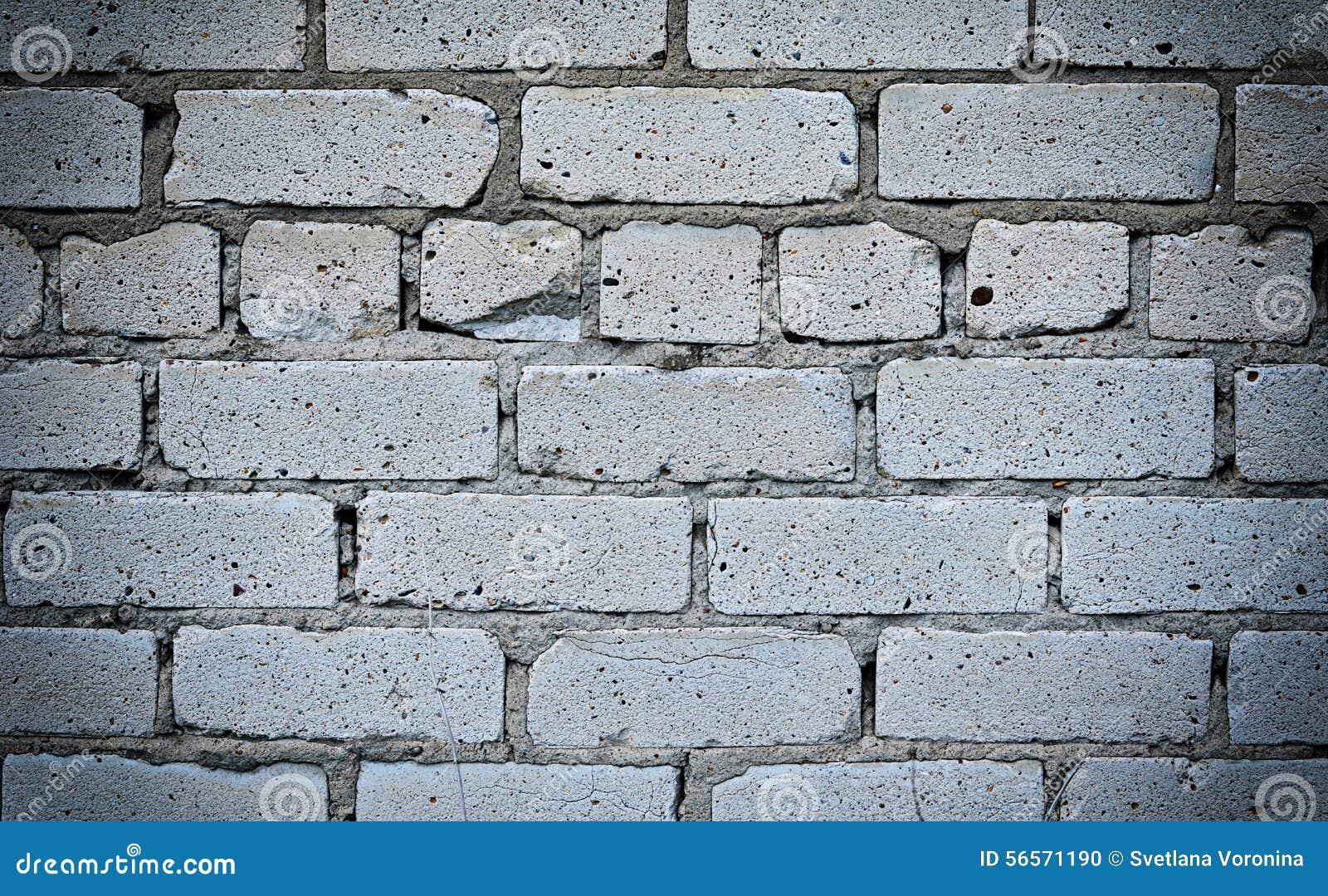 Download Τοίχος από άσπρο στενό επάνω τούβλου Στοκ Εικόνες - εικόνα από στενόμακρος, ήπια: 56571190