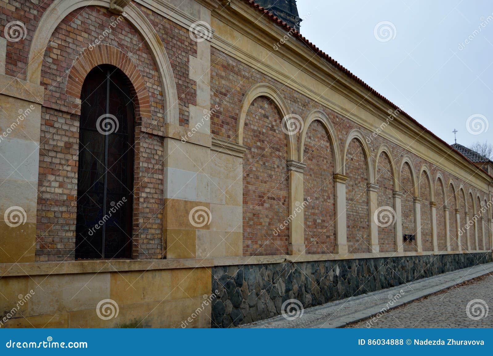 Τοίχος Brich με την πόρτα