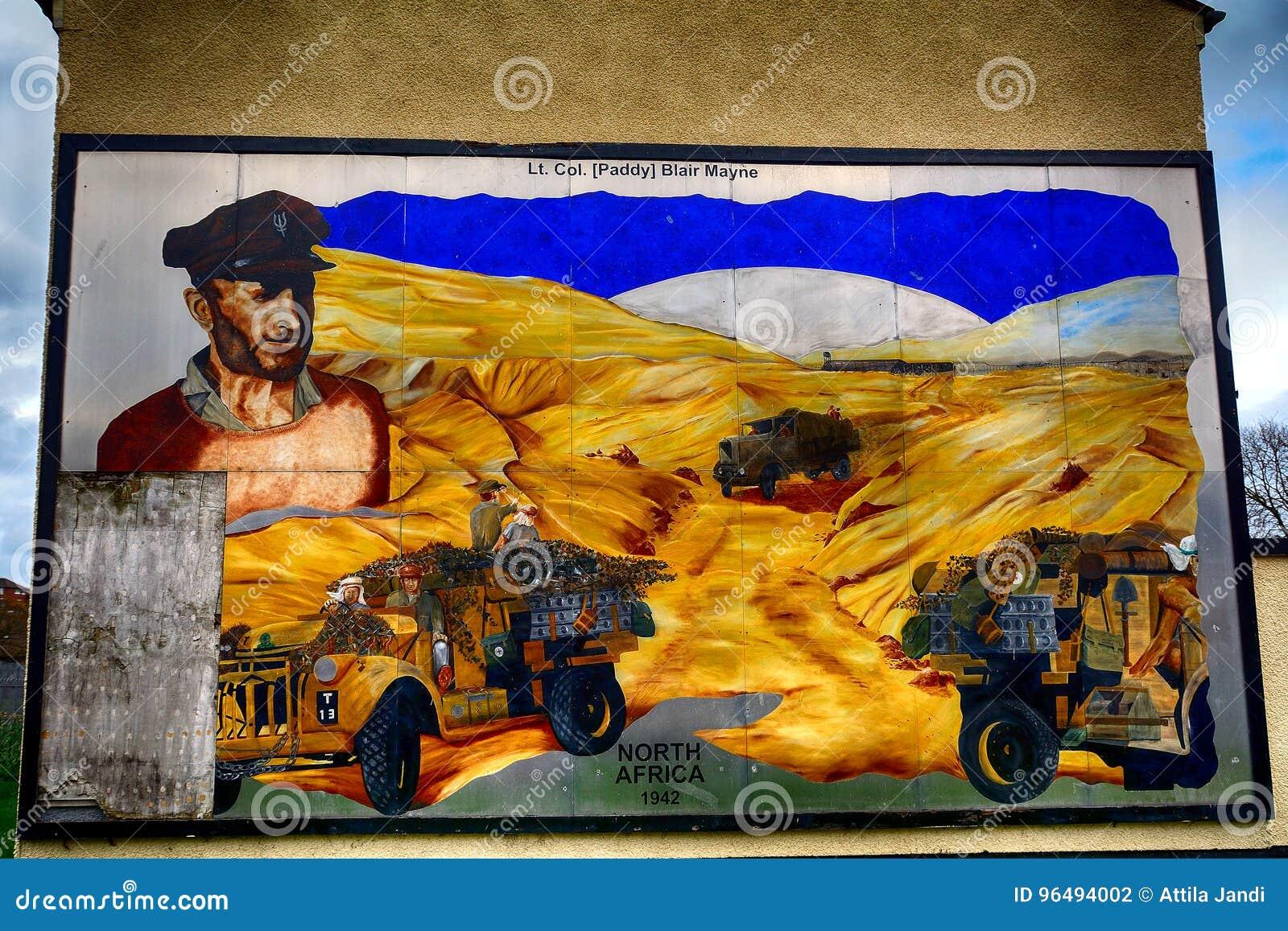 Τοιχογραφία ενωτικού, Newtownards, Βόρεια Ιρλανδία