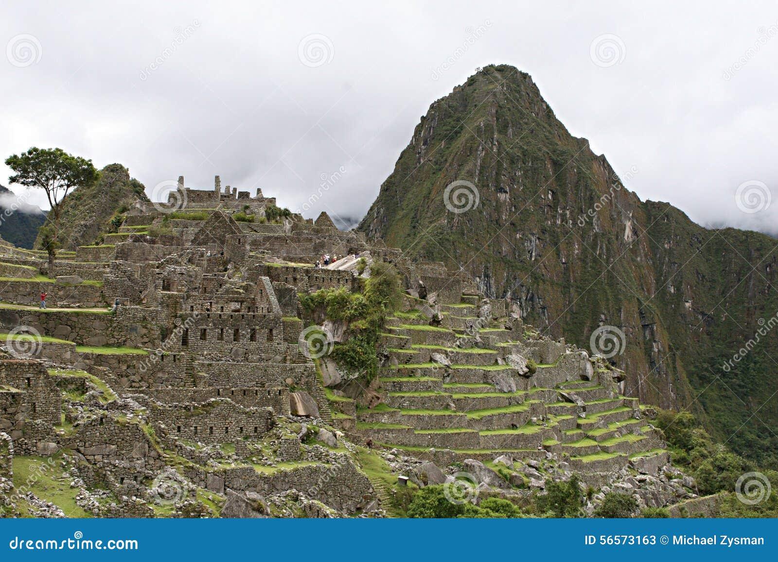Download Τοιχοποιία Picchu Machu στοκ εικόνα. εικόνα από ίχνος - 56573163