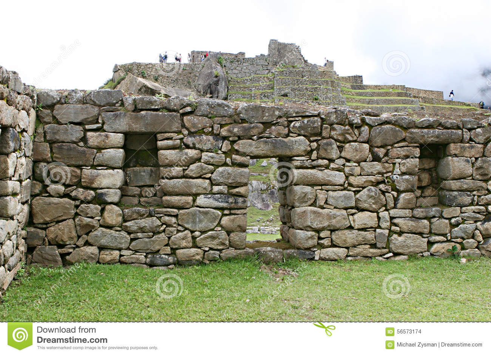 Download Τοιχοποιία Picchu Machu στοκ εικόνες. εικόνα από τούβλου - 56573174