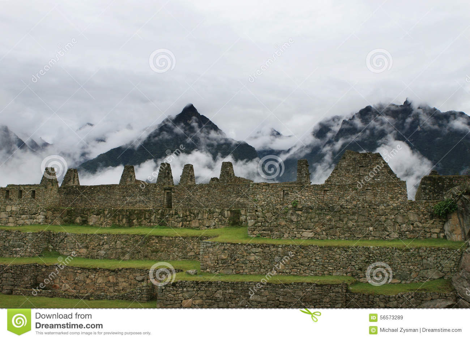 Download Τοιχοποιία Picchu Machu στοκ εικόνα. εικόνα από περού - 56573289