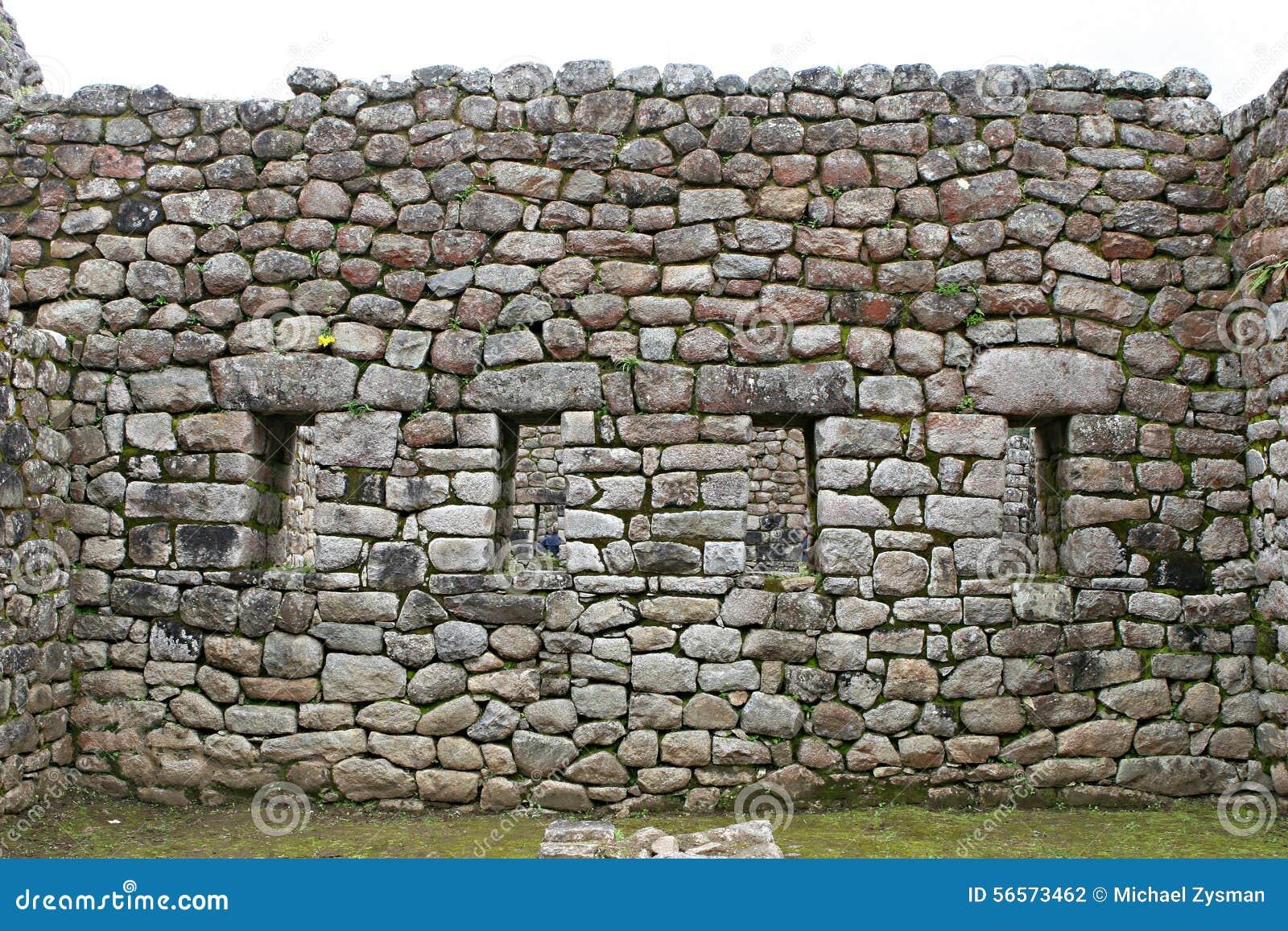 Download Τοιχοποιία Picchu Machu στοκ εικόνες. εικόνα από διάσημος - 56573462