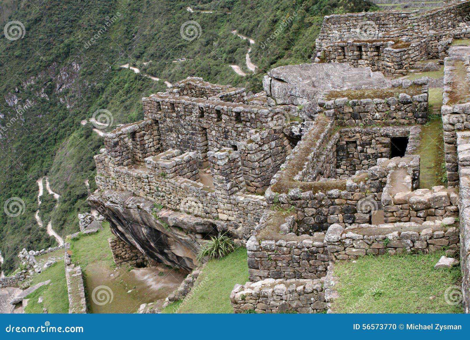 Download Τοιχοποιία Picchu Machu στοκ εικόνες. εικόνα από πεζούλι - 56573770