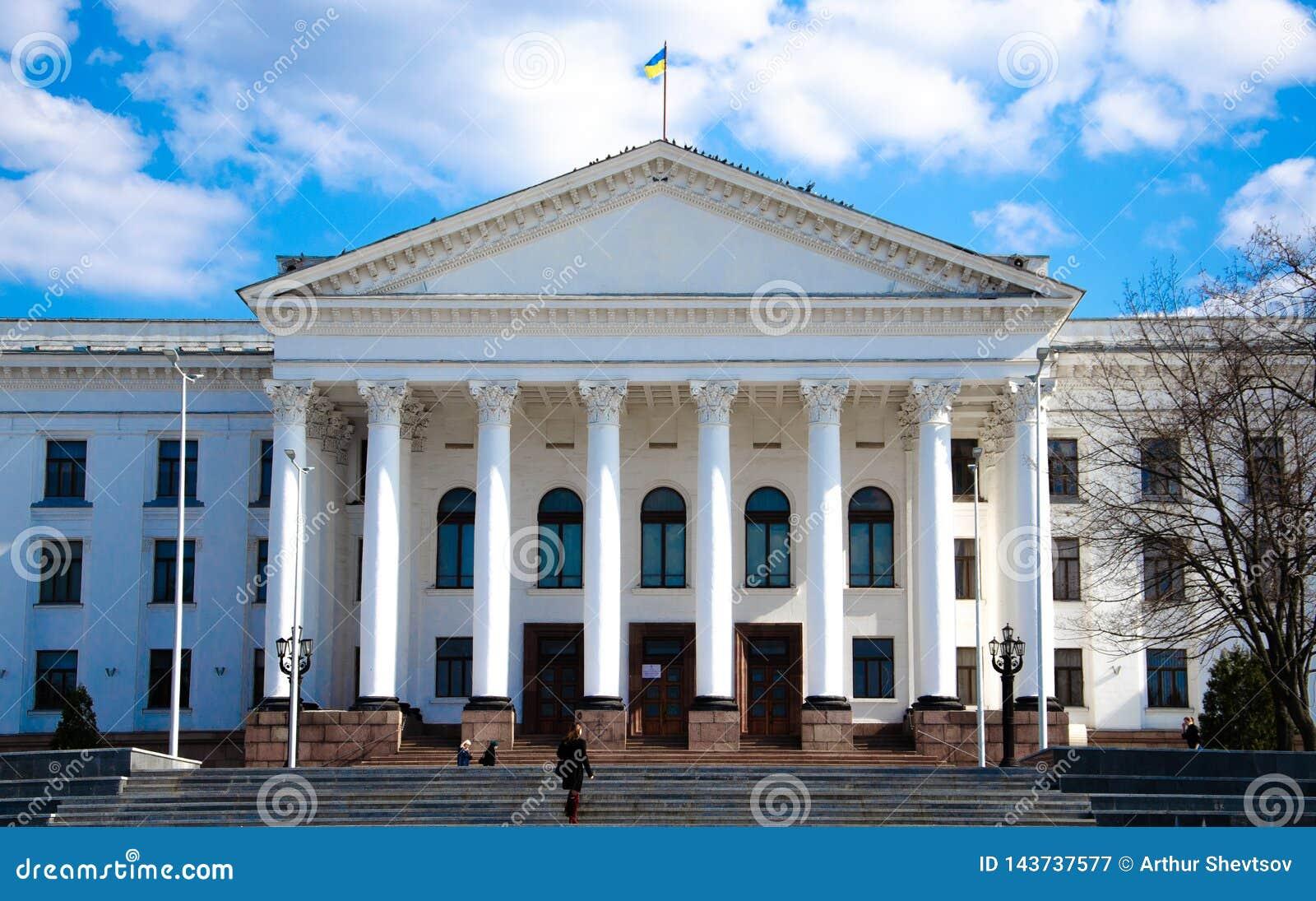 Τον Απρίλιο του 2019 Kramatorsk, Ουκρανία