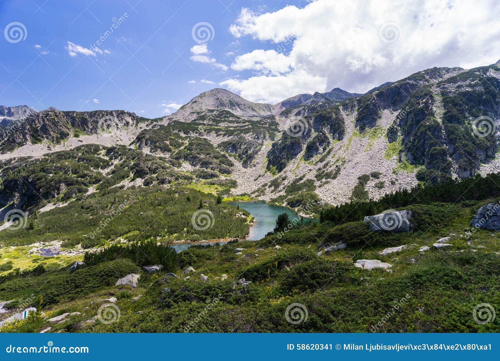 Τοπίο βουνών Pirin