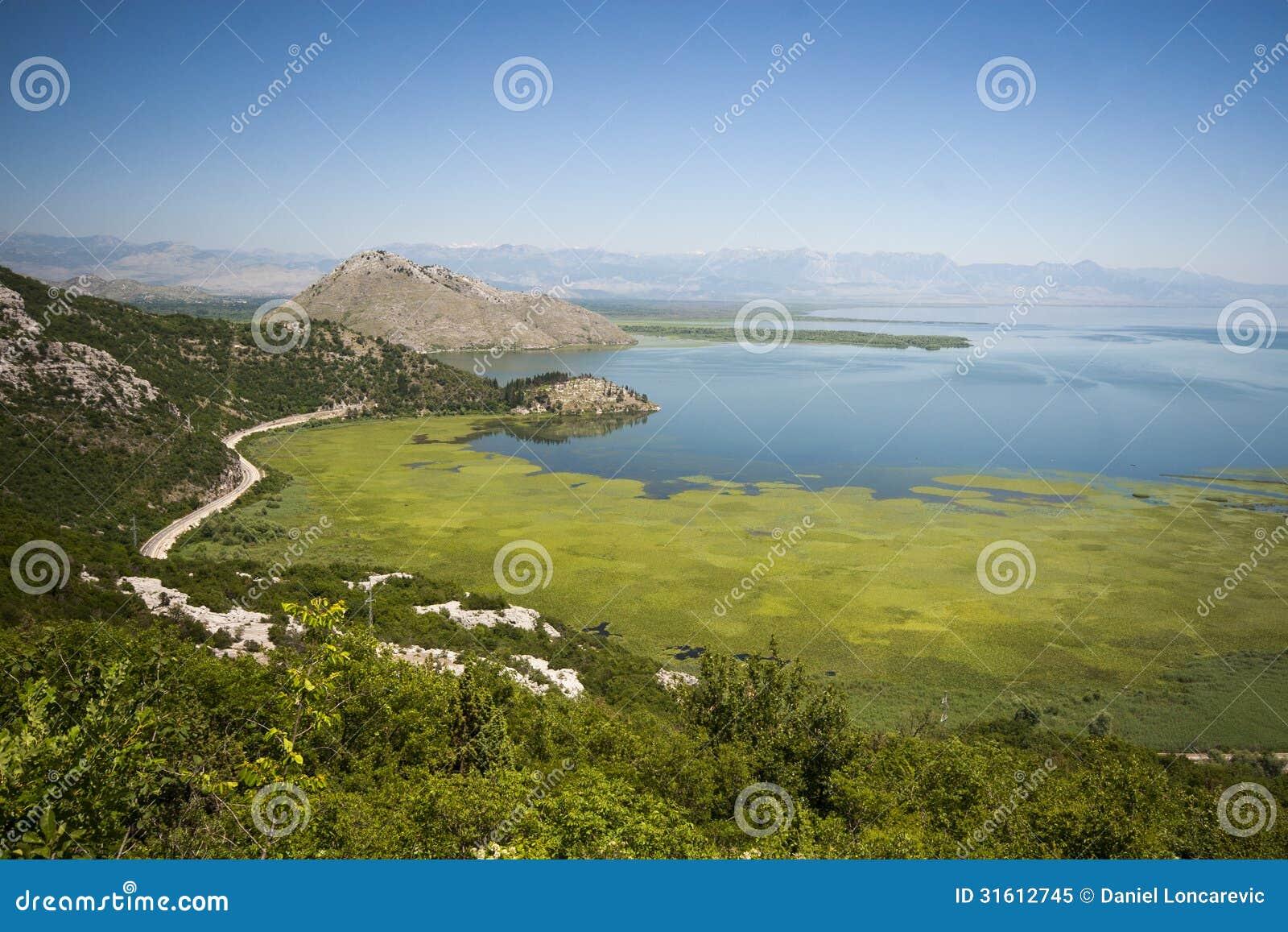 Τοπίο λιμνών Skadar