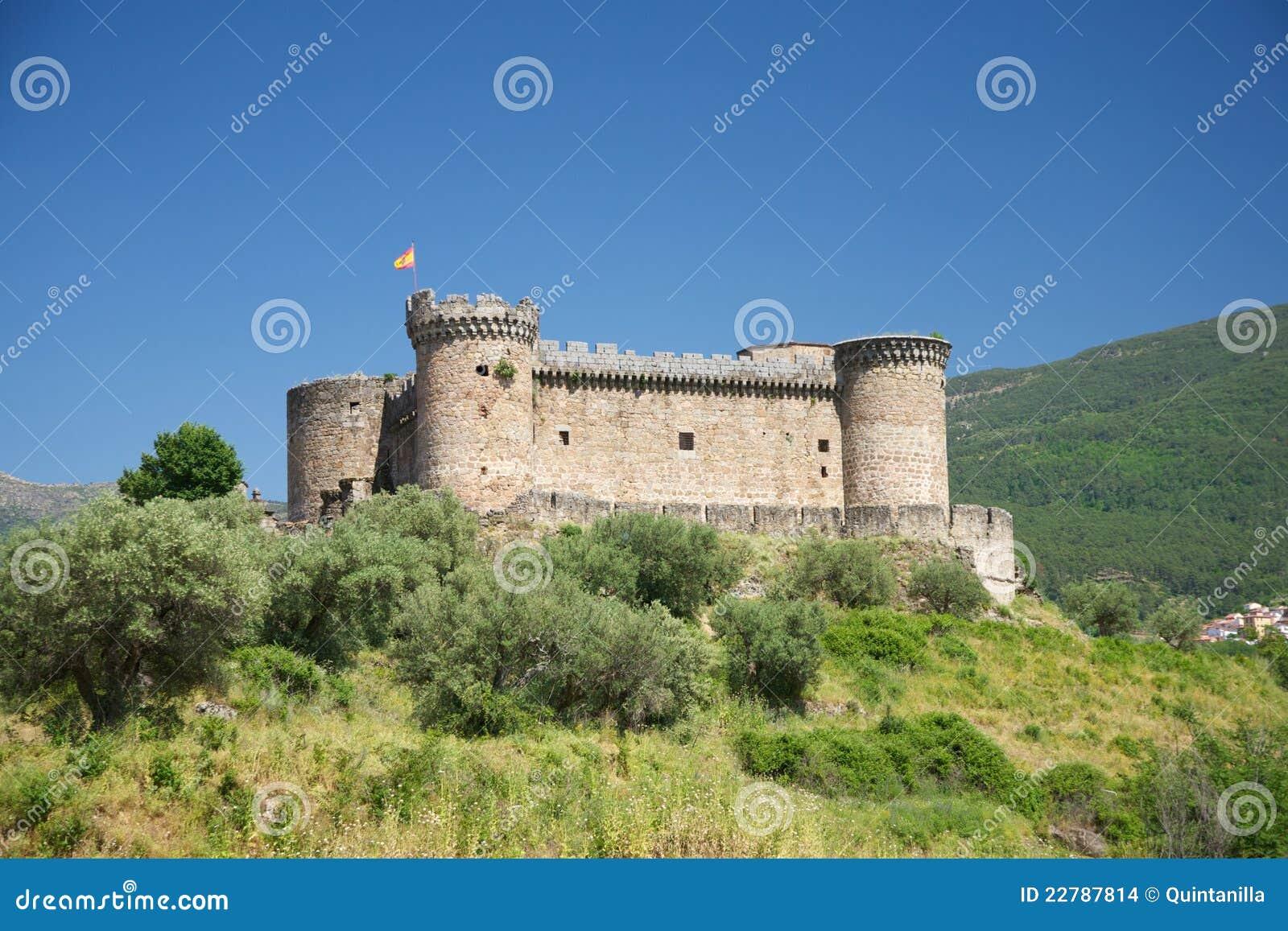 τοπίο ισπανικά κάστρων