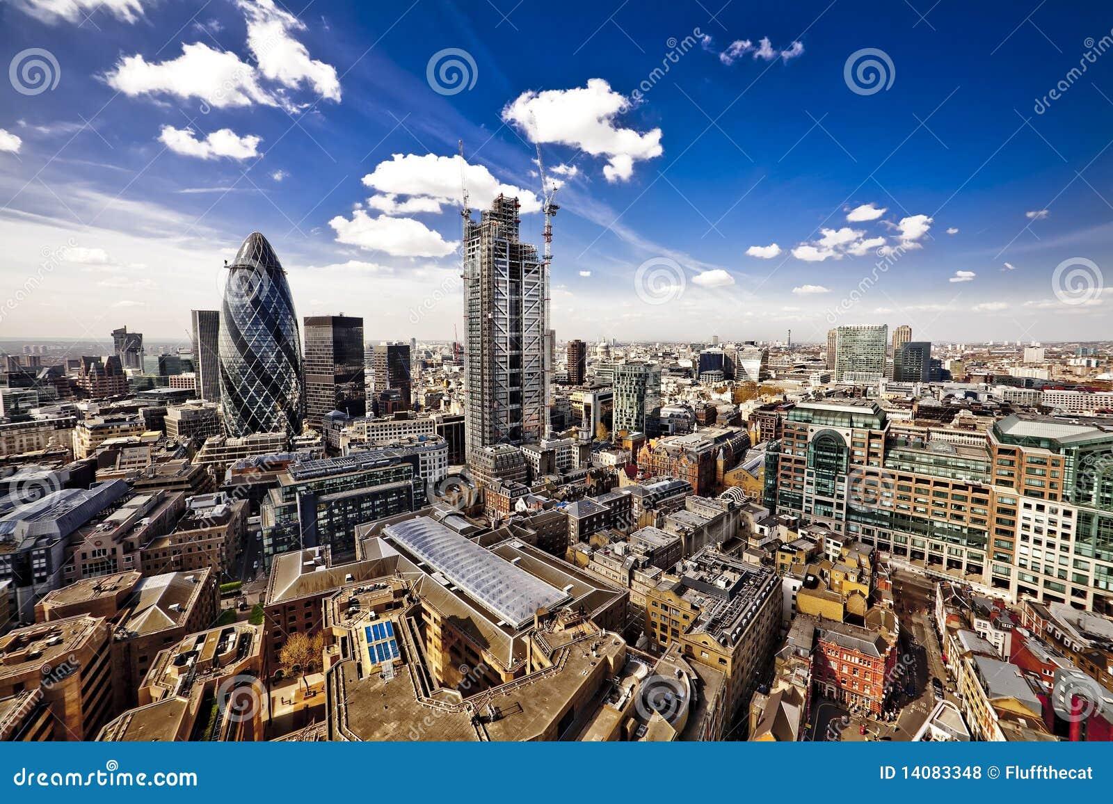 τοπίο Λονδίνο πόλεων