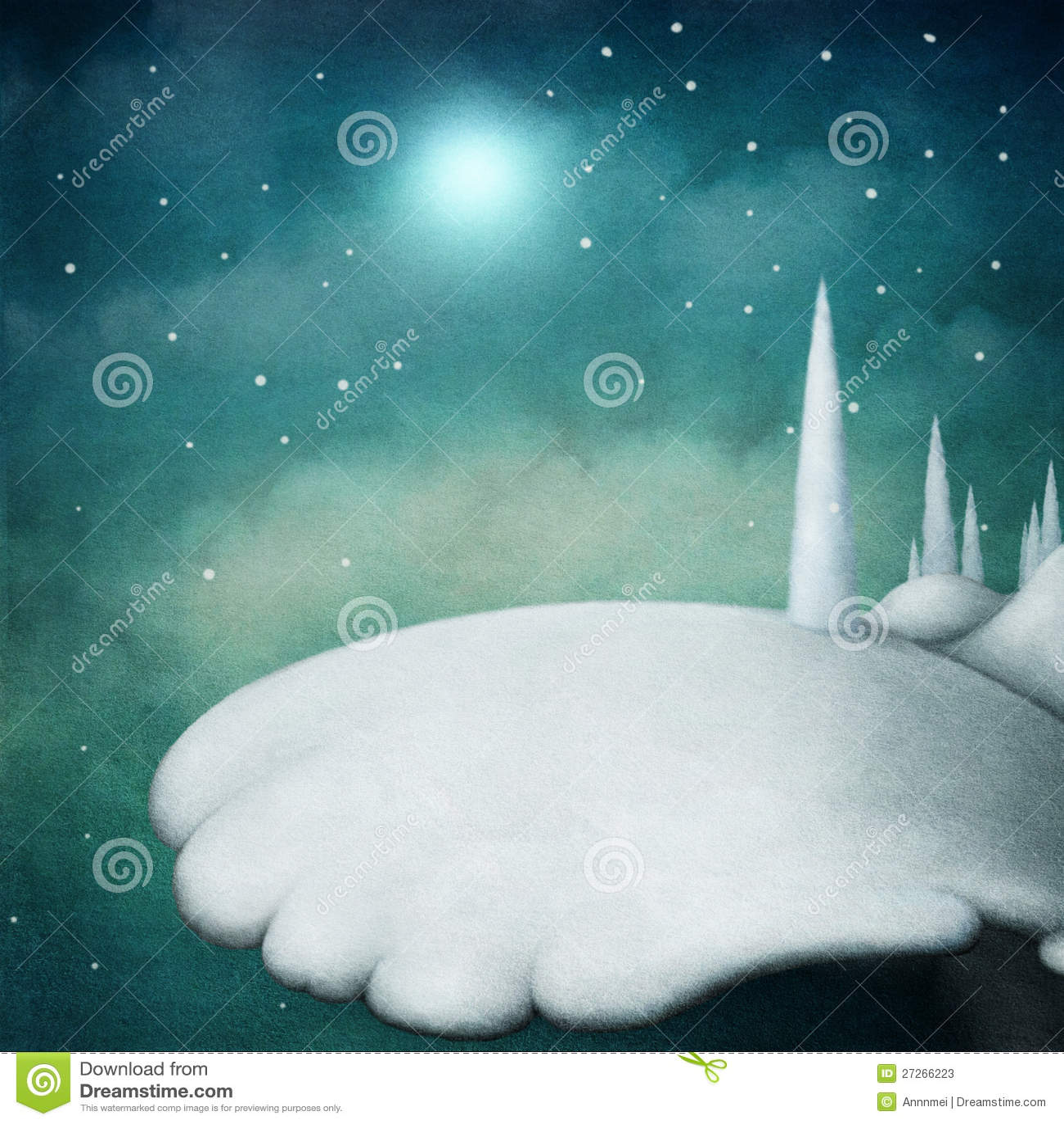 Τοπίο χιονιού