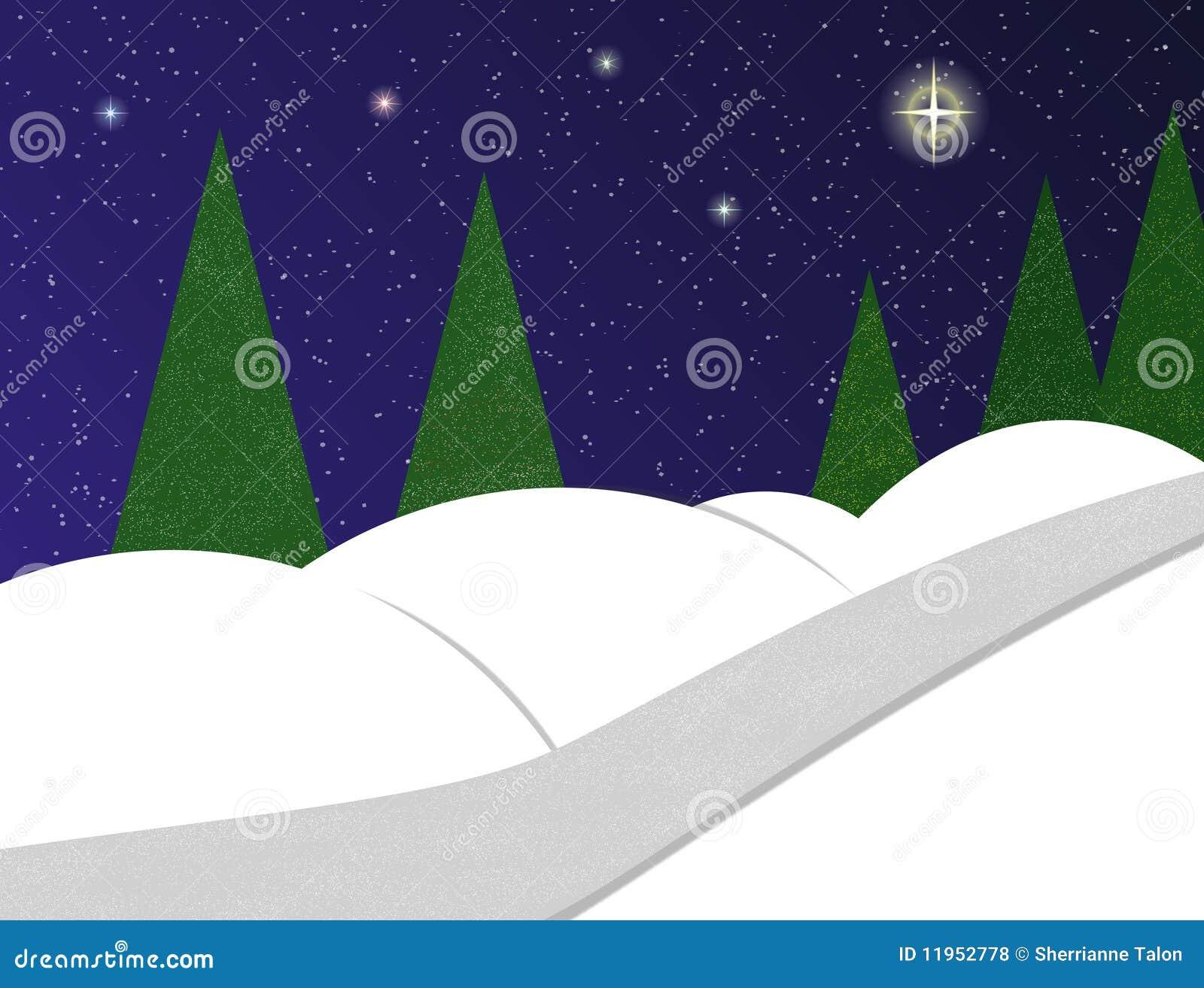 τοπίο χιονώδες