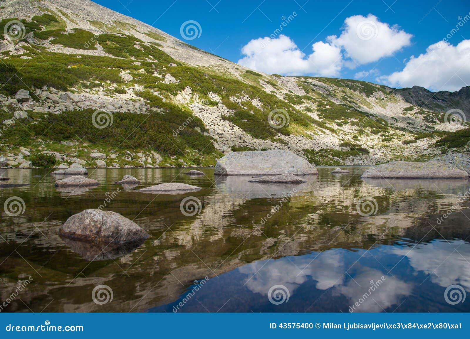Τοπίο Pirin βουνών