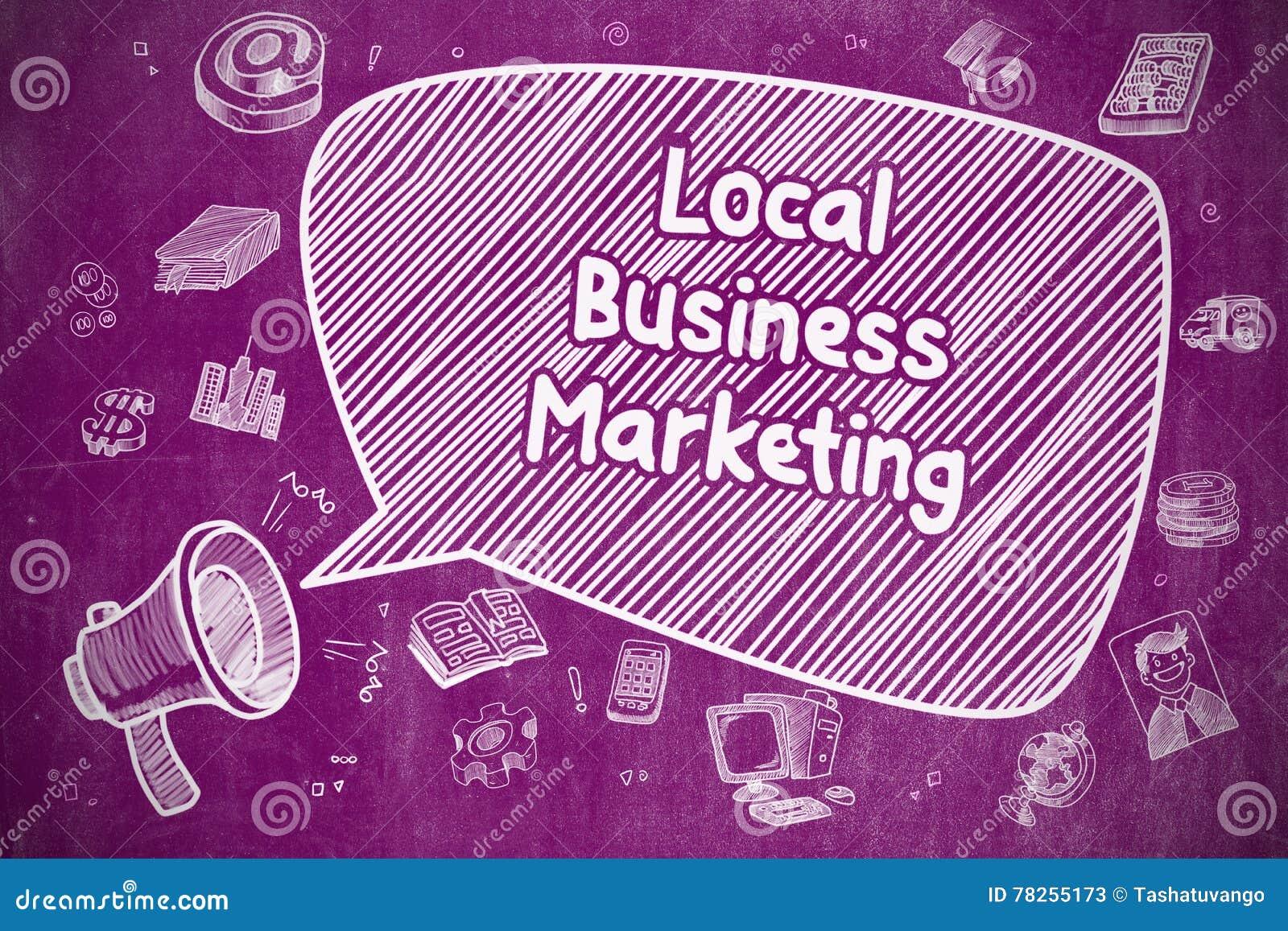 Τοπική επιχείρηση που εμπορεύεται - επιχειρησιακή έννοια
