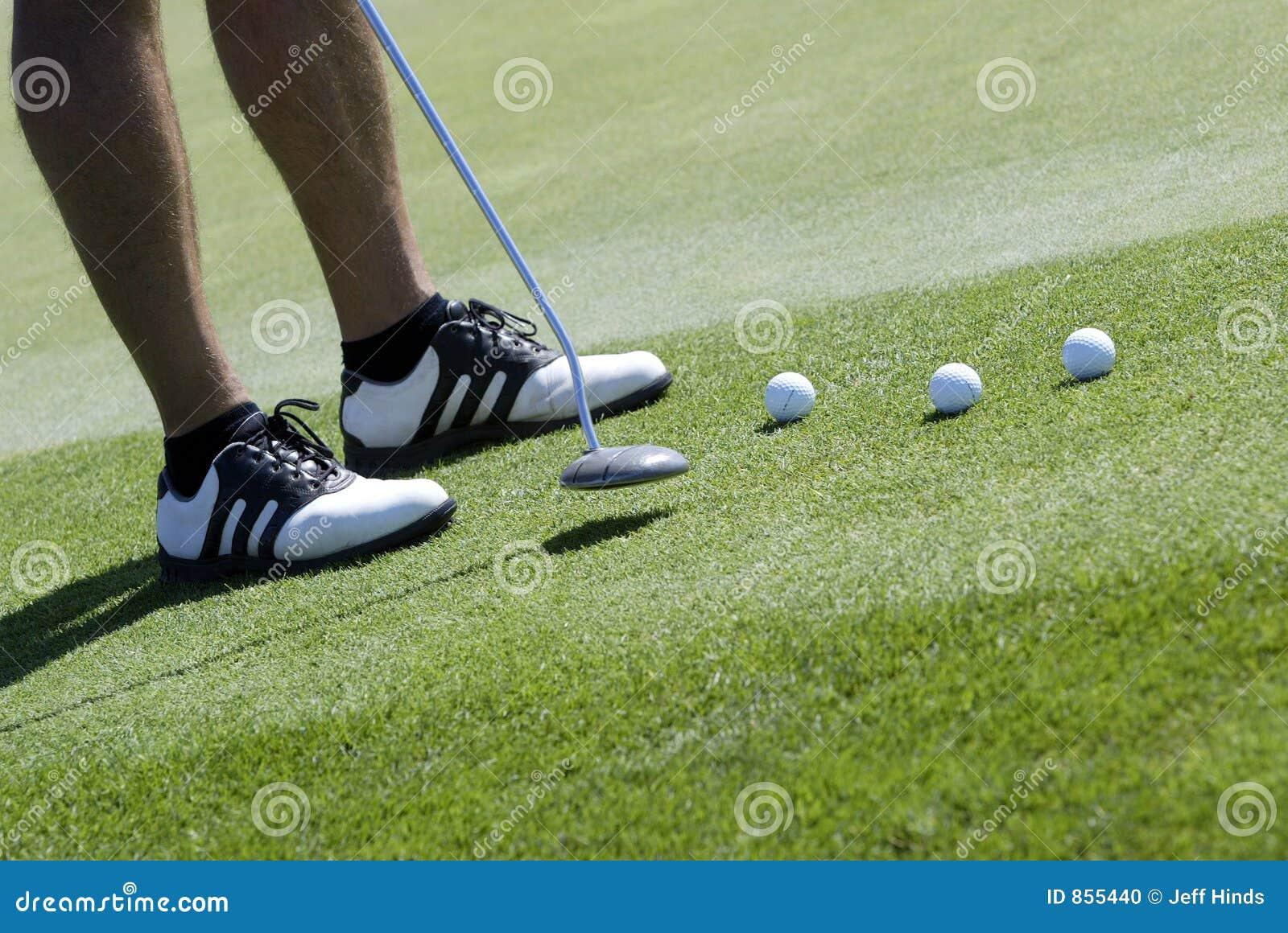 τοποθέτηση παικτών γκολφ