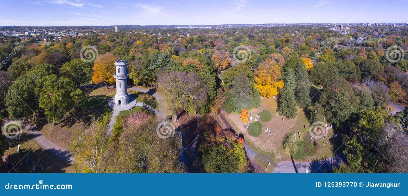 Τοποθετήστε το πυρόξανθο νεκροταφείο, Watertown, Μασαχουσέτη, ΗΠΑ