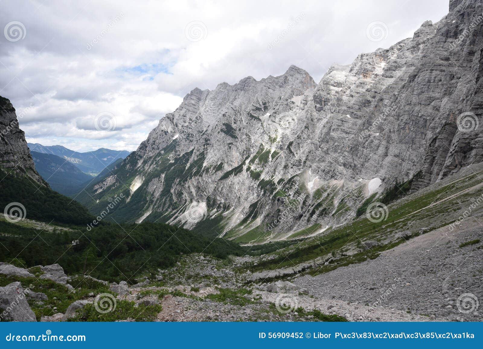 Τοποθετήστε Triglav - ιουλιανές Άλπεις