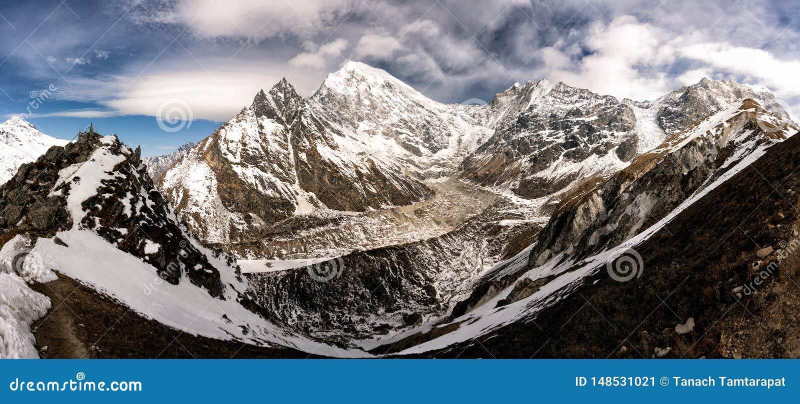 Τοπ άποψη βουνών Longtang