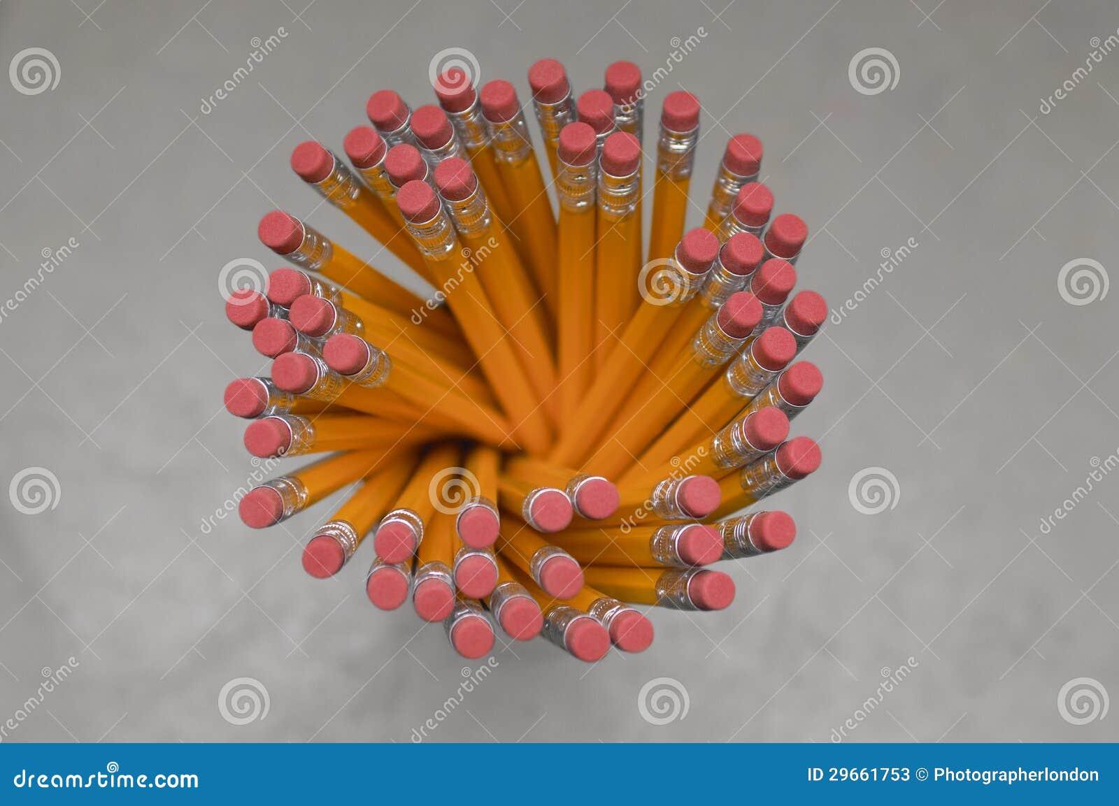 Τοπ άποψη του κατόχου μολυβιών