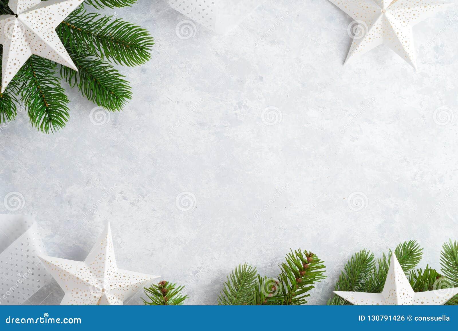 Τοπ άποψη υποβάθρου Χριστουγέννων άσπρη ξύλινη Πρότυπο για το νέο διάστημα έτους για το κείμενο Πρότυπο για τη διαφήμιση, συγχαρη