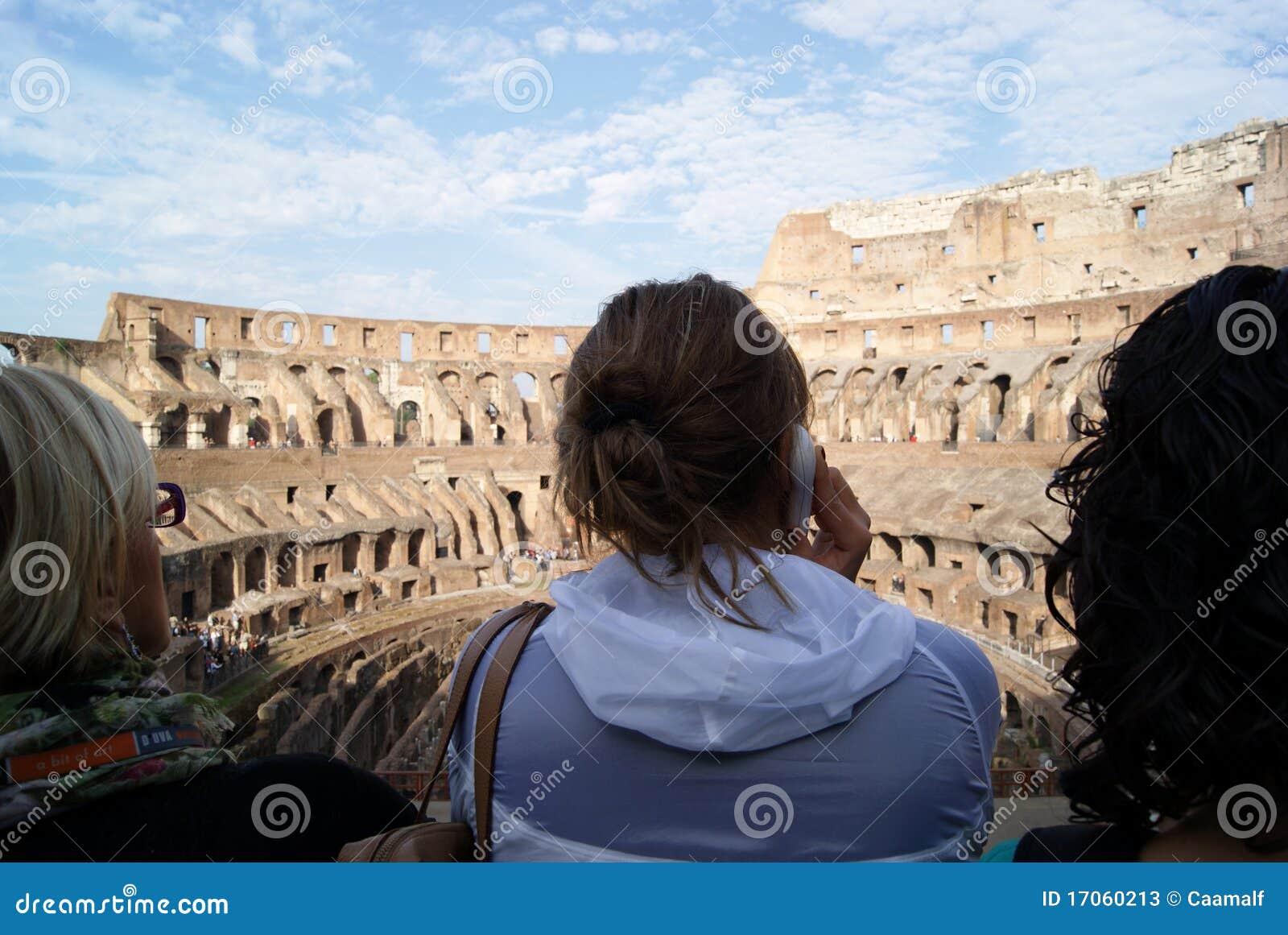 τουρίστας colosseum