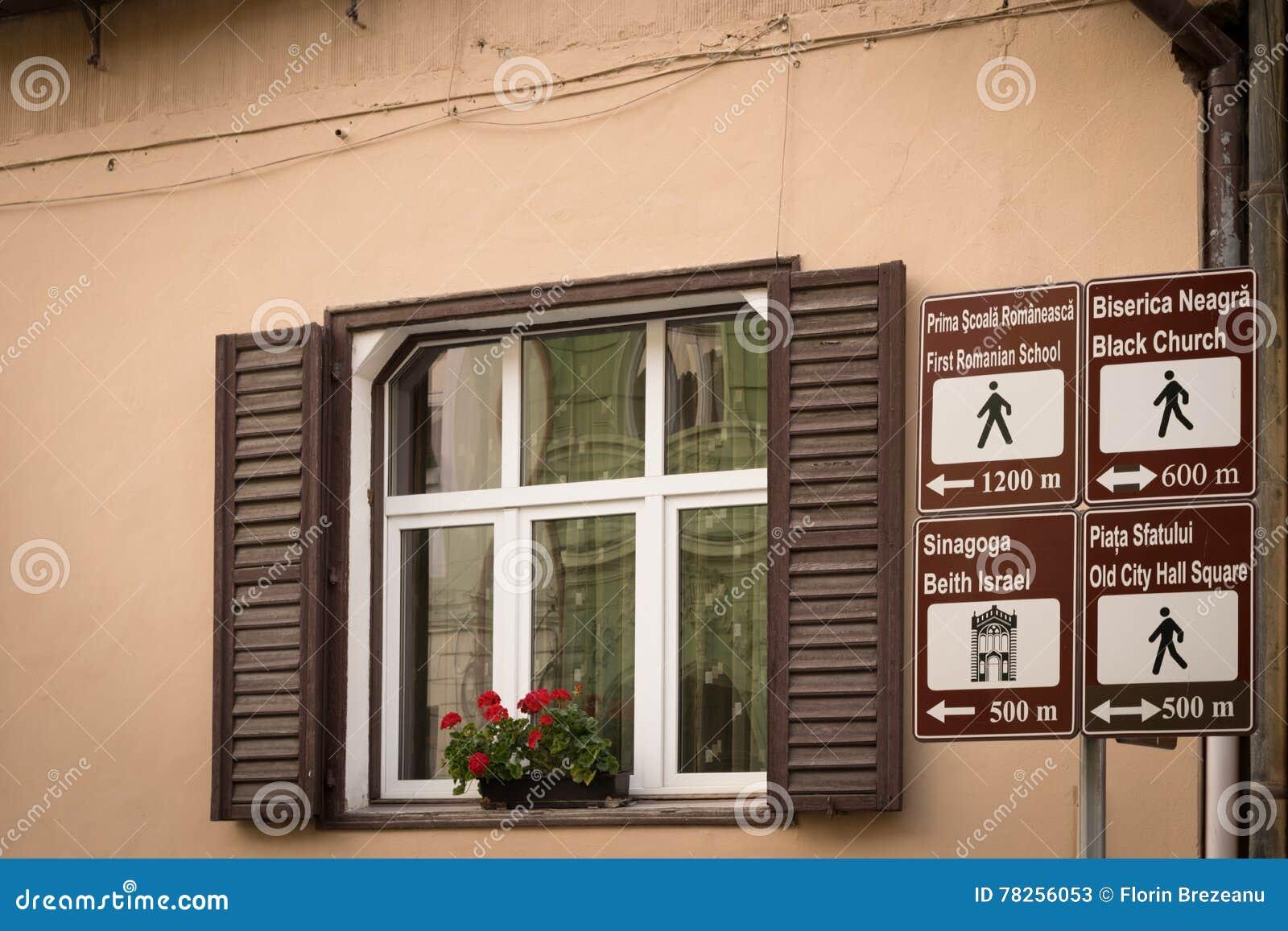 Τουριστική πληροφοριακή επιτροπή Brasov, Τρανσυλβανία, Ρουμανία, Ευρώπη