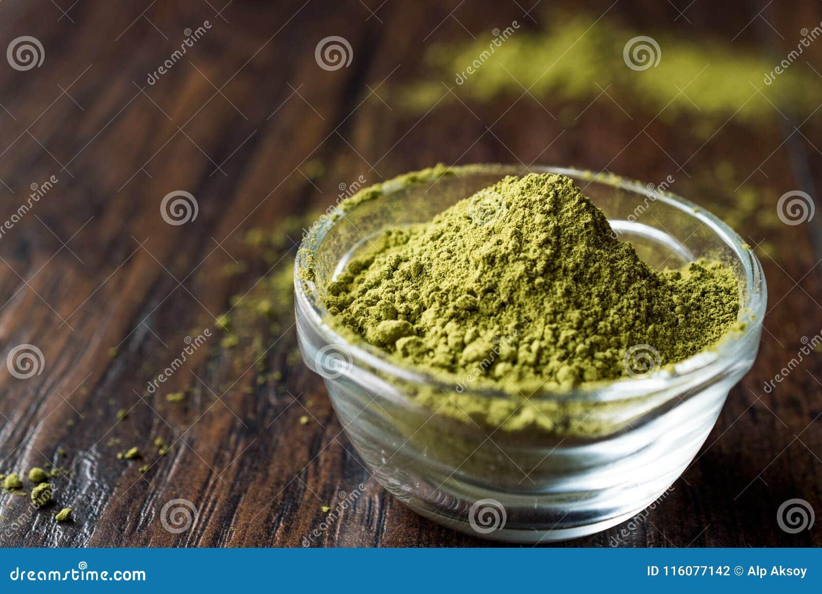 Τουρκικό Kina Henna σκόνη ή τσάι Matcha