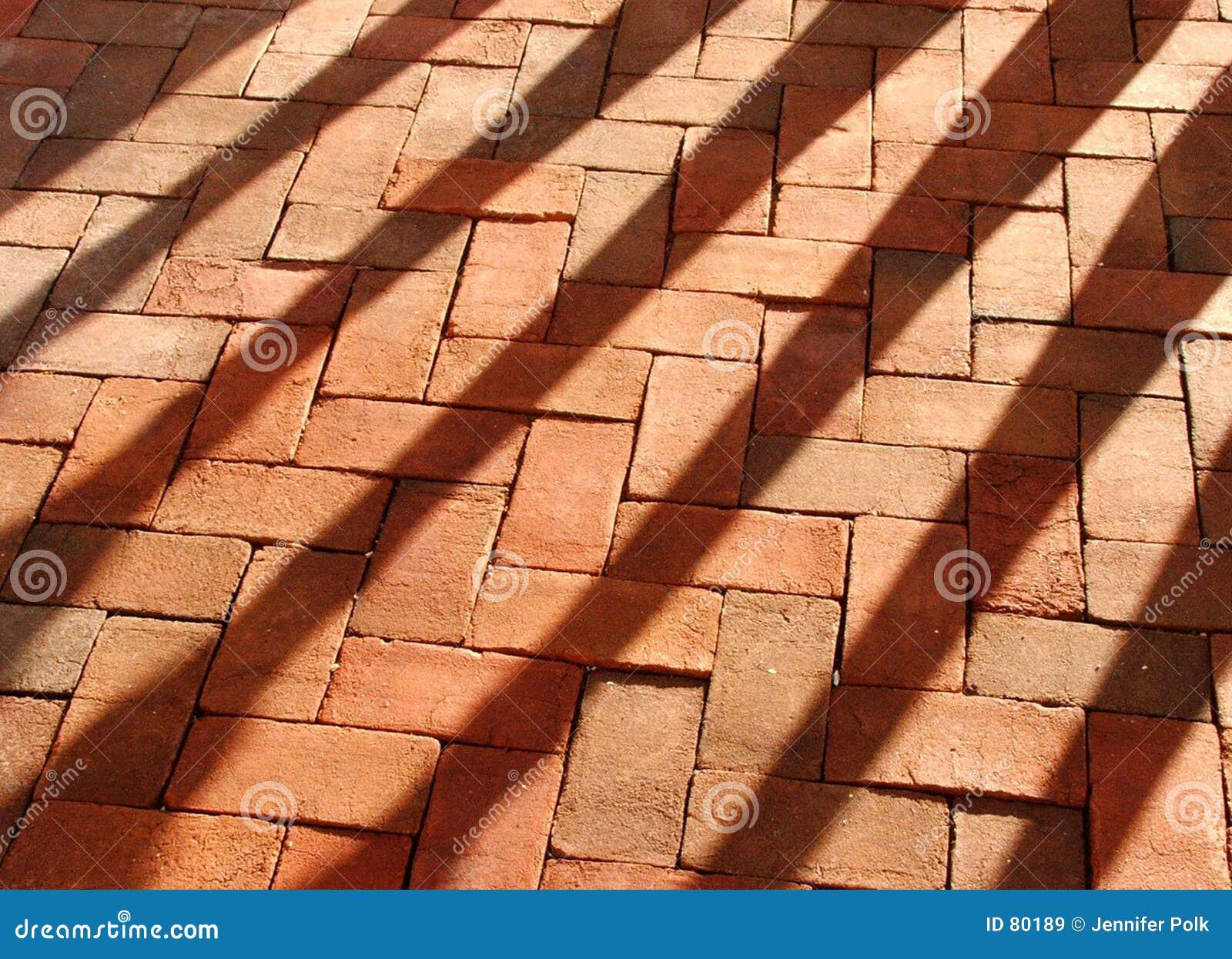 τούβλα που σκιάζονται