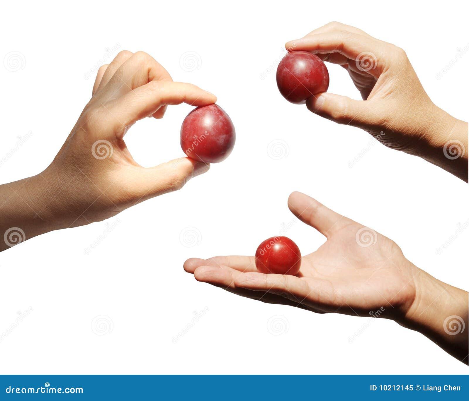 το αντικείμενο χεριών εμφ