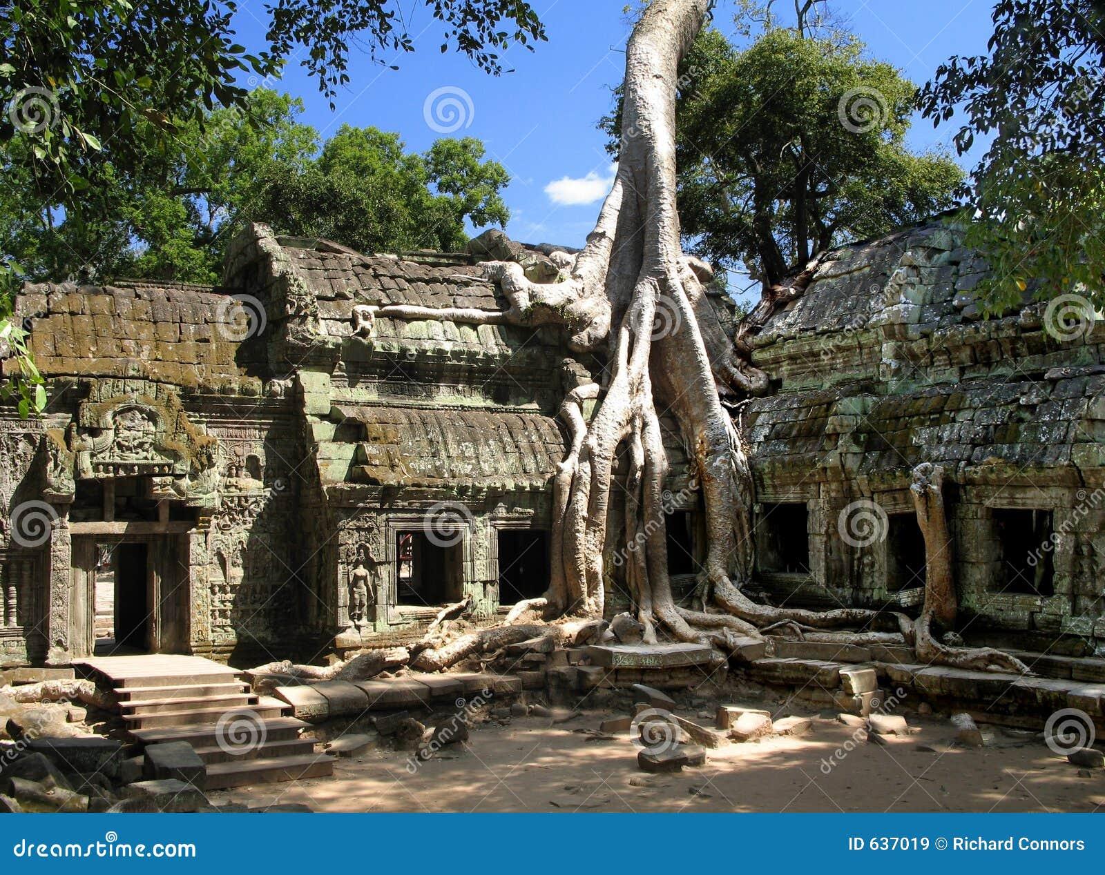 το αρχαίο angkor Καμπότζη καταν&al