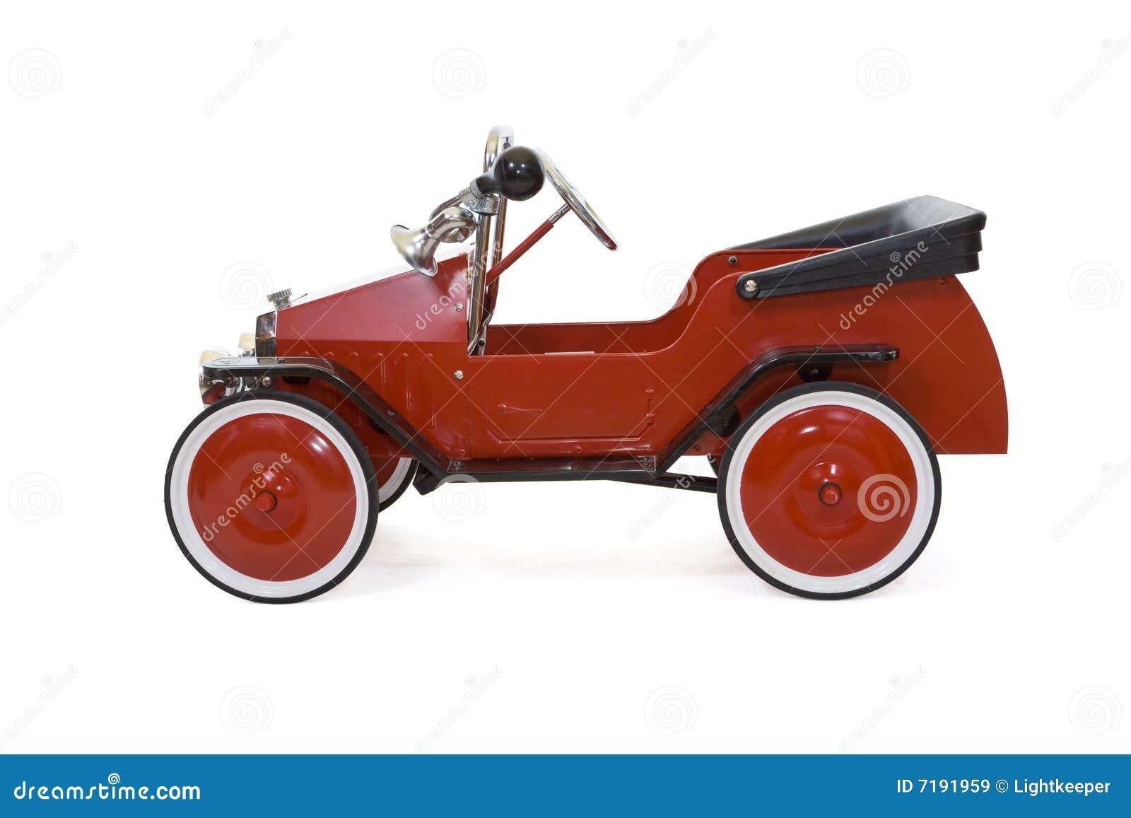 το αυτοκίνητο απομόνωσε τον κόκκινο τρύγο παιχνιδιών