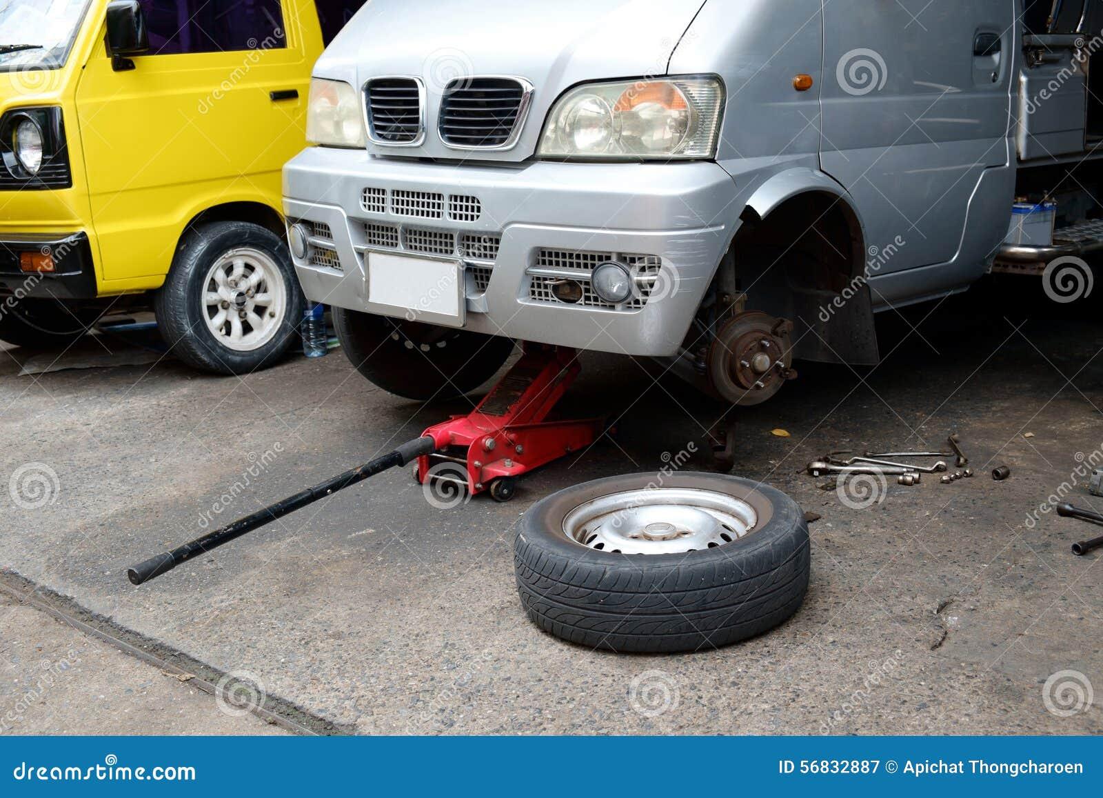 Το αυτοκίνητο και η επισκευή εργαλείων