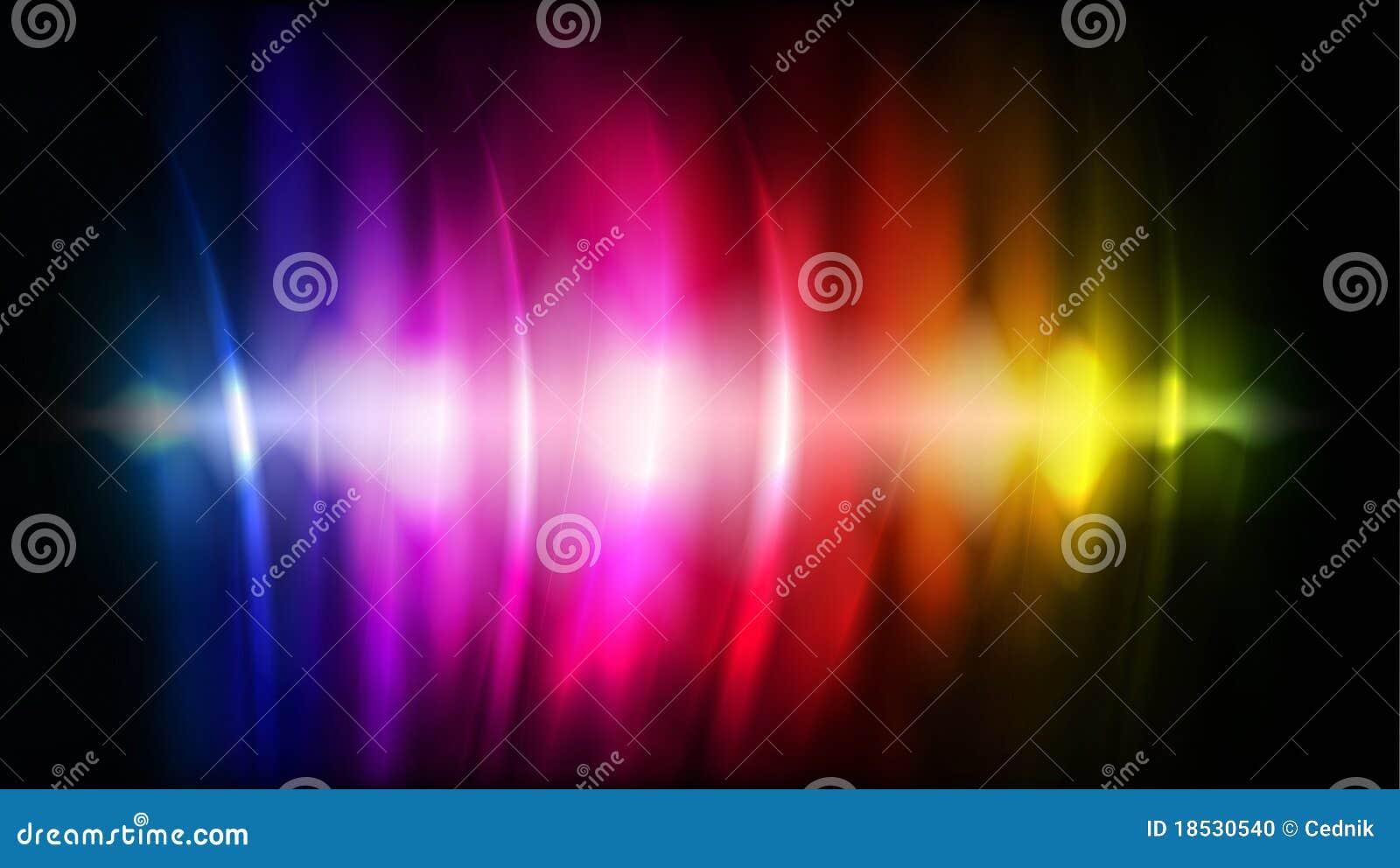 το αφηρημένο χρώμα ρέει διάν&upsil