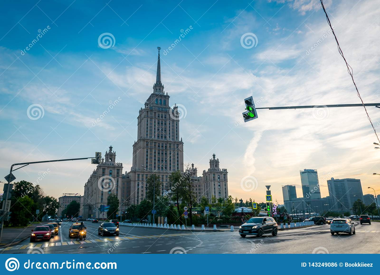 Το βασιλικό ξενοδοχείο Radisson στη Μόσχα, Ρωσία