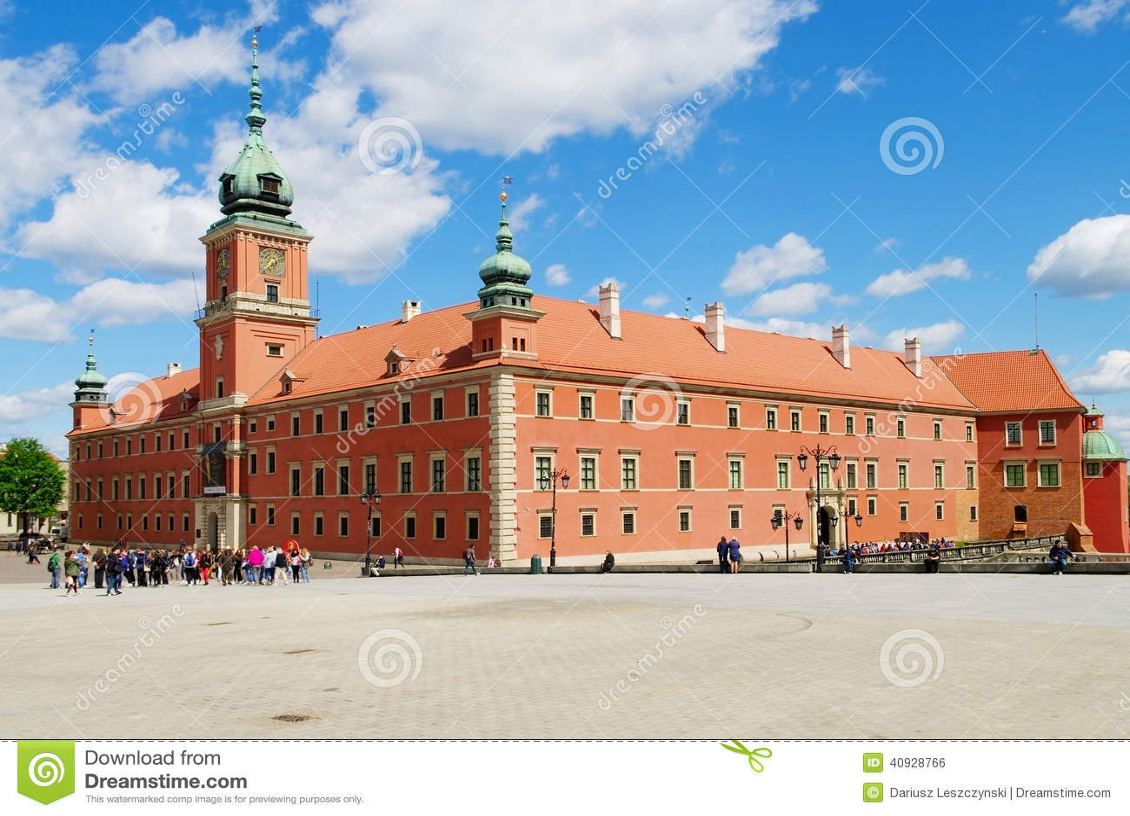 Το βασιλικό Castle στη Βαρσοβία, Πολωνία