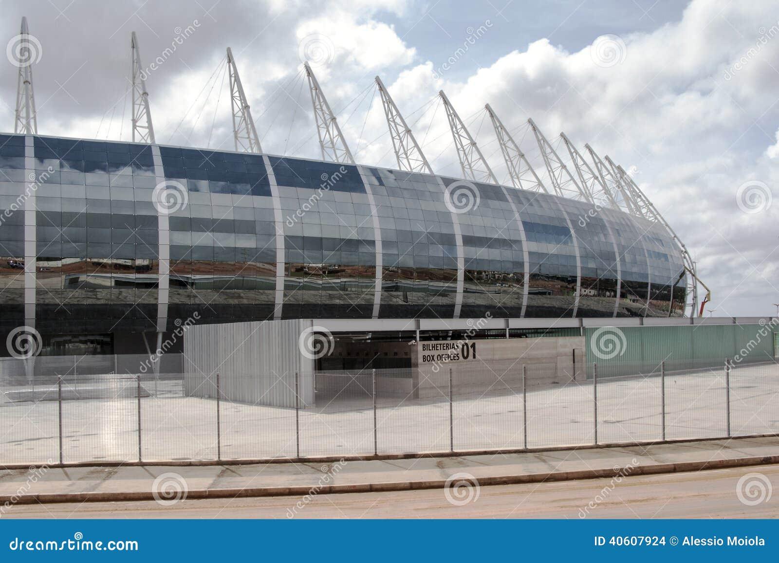 Το γήπεδο ποδοσφαίρου του Φορταλέζα, Βραζιλία