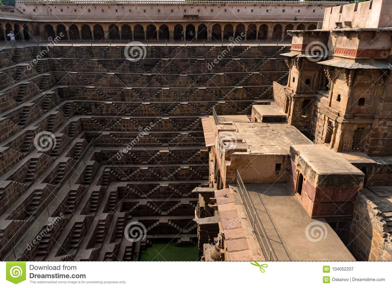 Το διάσημο Chand Baori Stepwell