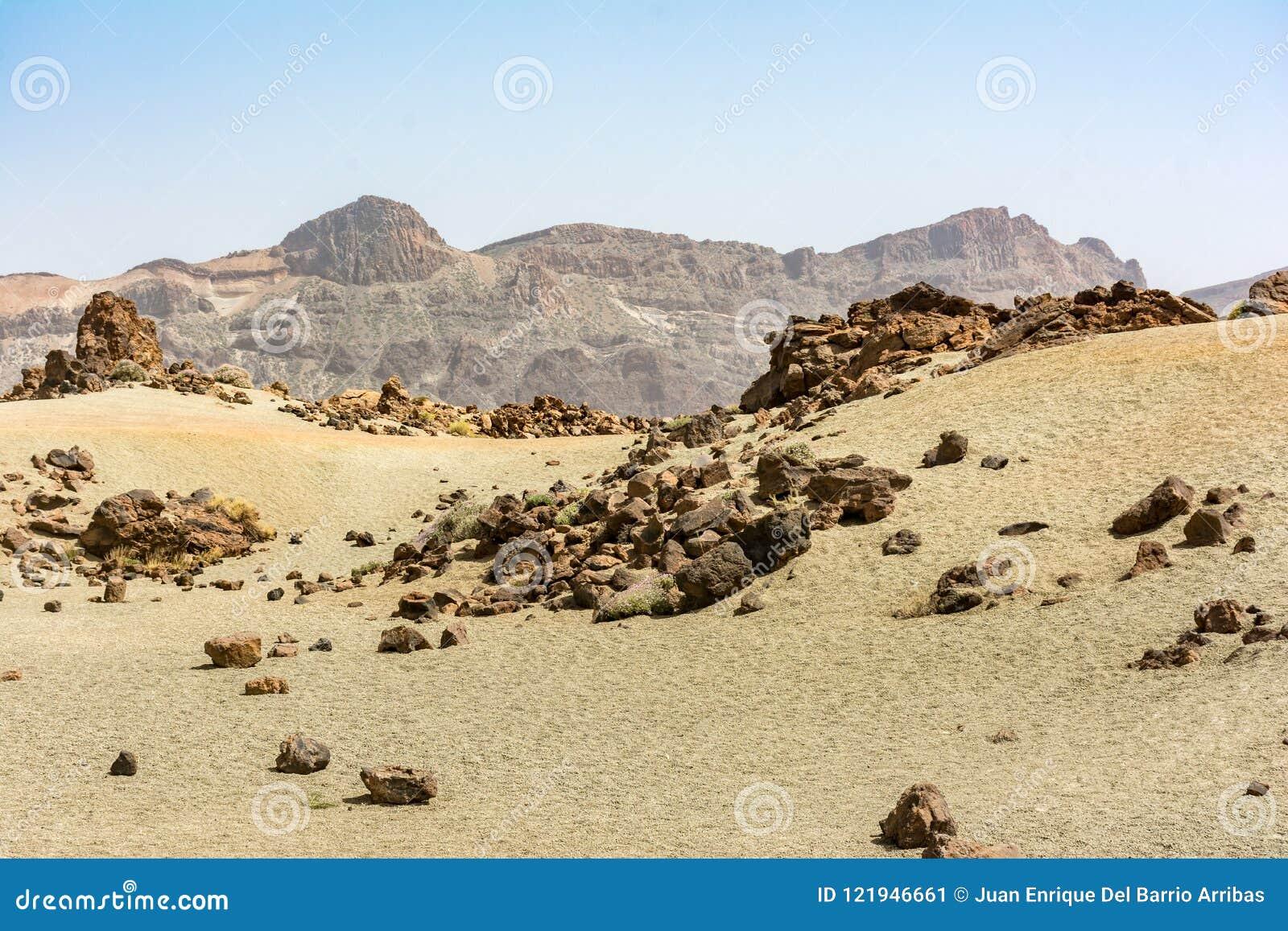 Το εθνικό πάρκο Teide καταλαμβάνει την υψηλότερη περιοχή του νησιού Tenerife στα Κανάρια νησιά και την Ισπανία