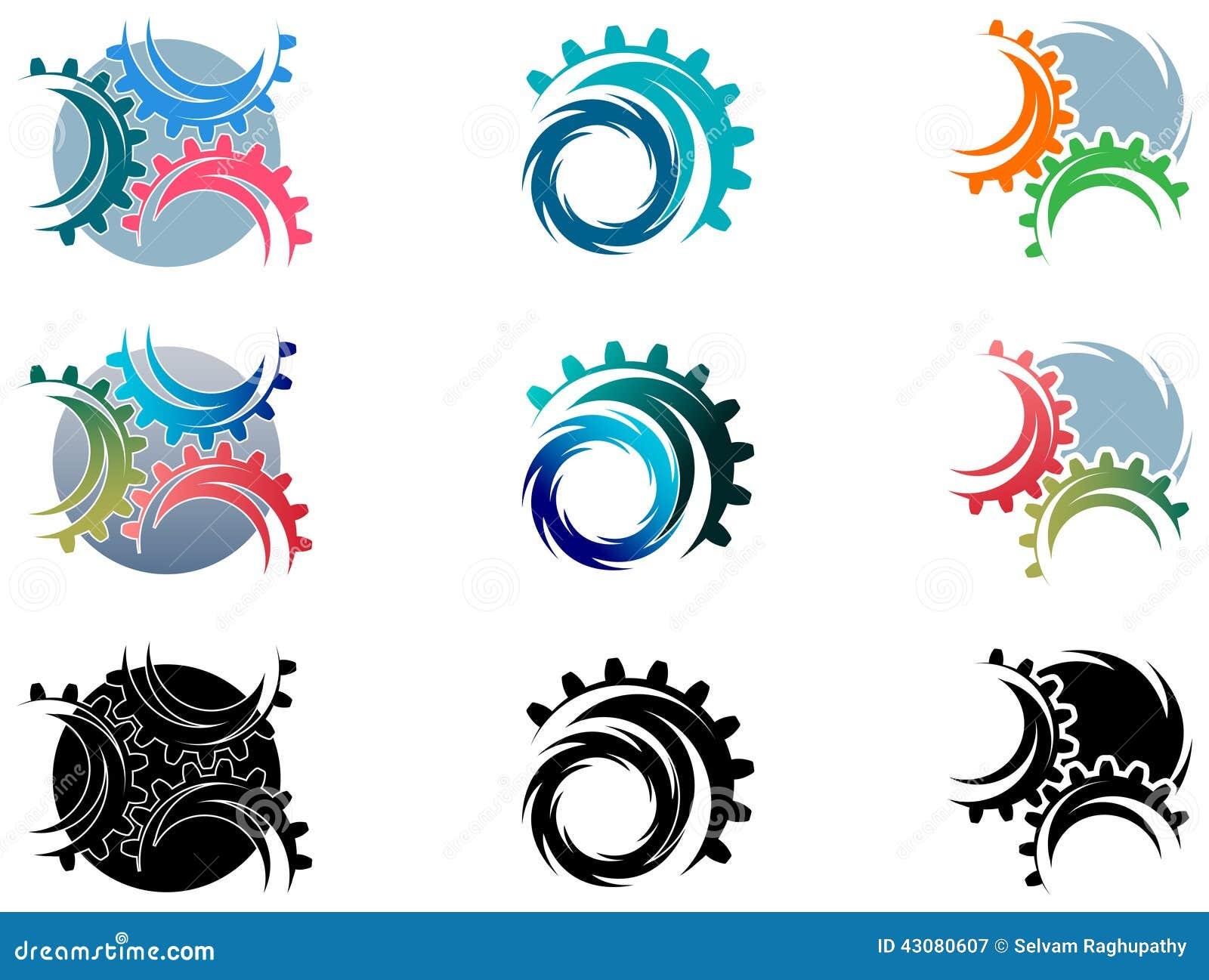 Το εργαλείο κυλά το σύνολο λογότυπων