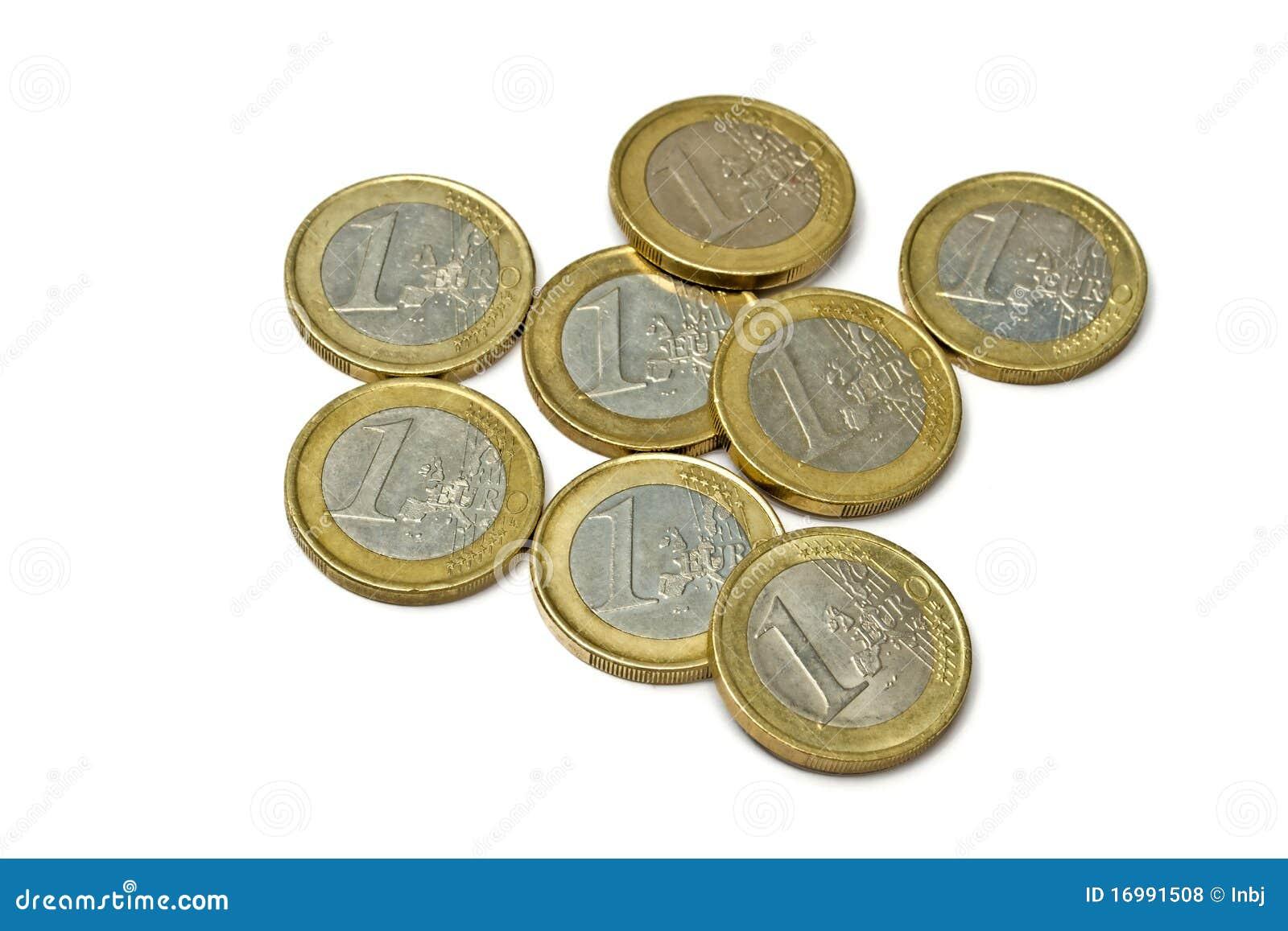 το ευρώ νομισμάτων απομόνω&s