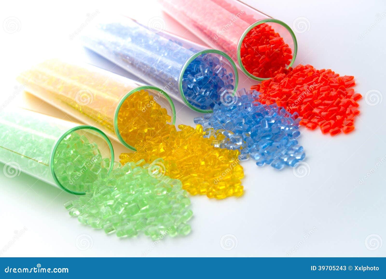 Το διαφανές πλαστικό κοκκοποιεί