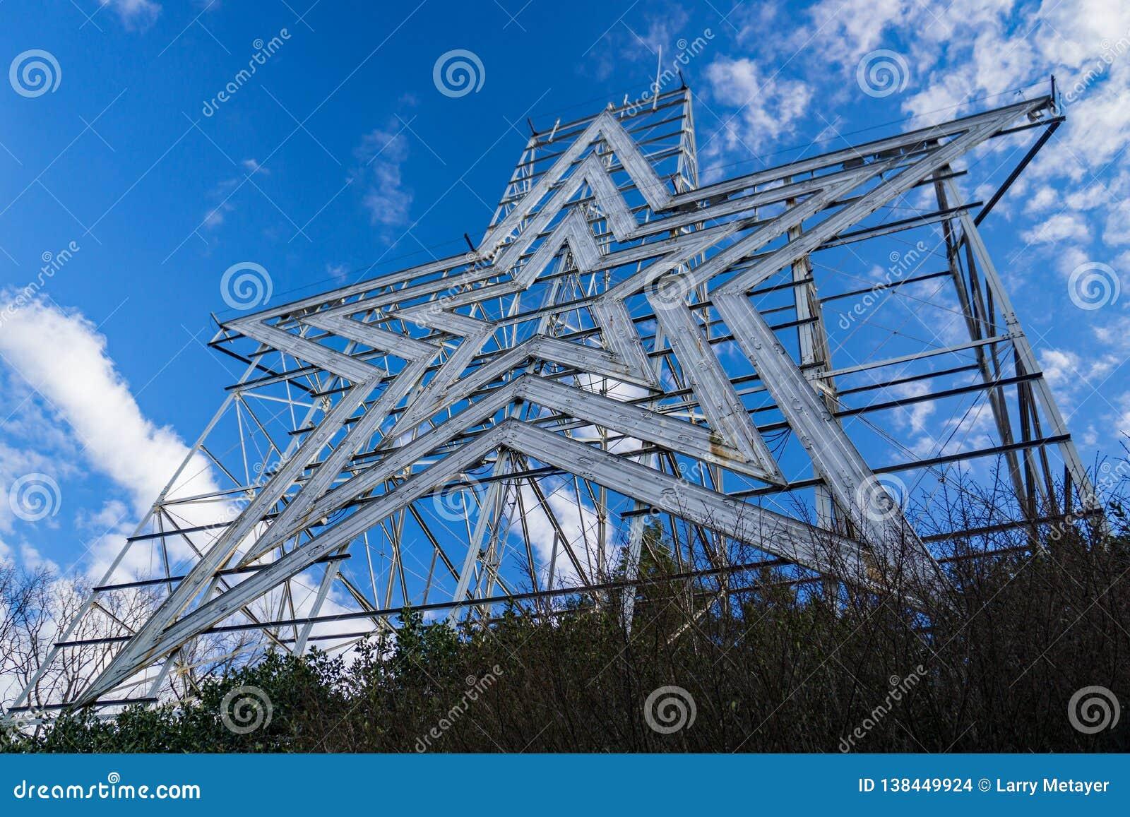 Το ιστορικό αστέρι Roanoke, Roanoke, Βιρτζίνια, ΗΠΑ