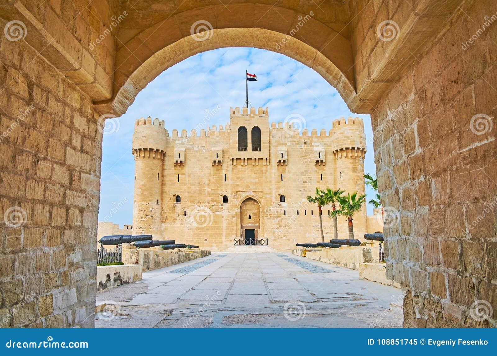 Το κάστρο μέσω της πύλης, Αλεξάνδρεια, Αίγυπτος
